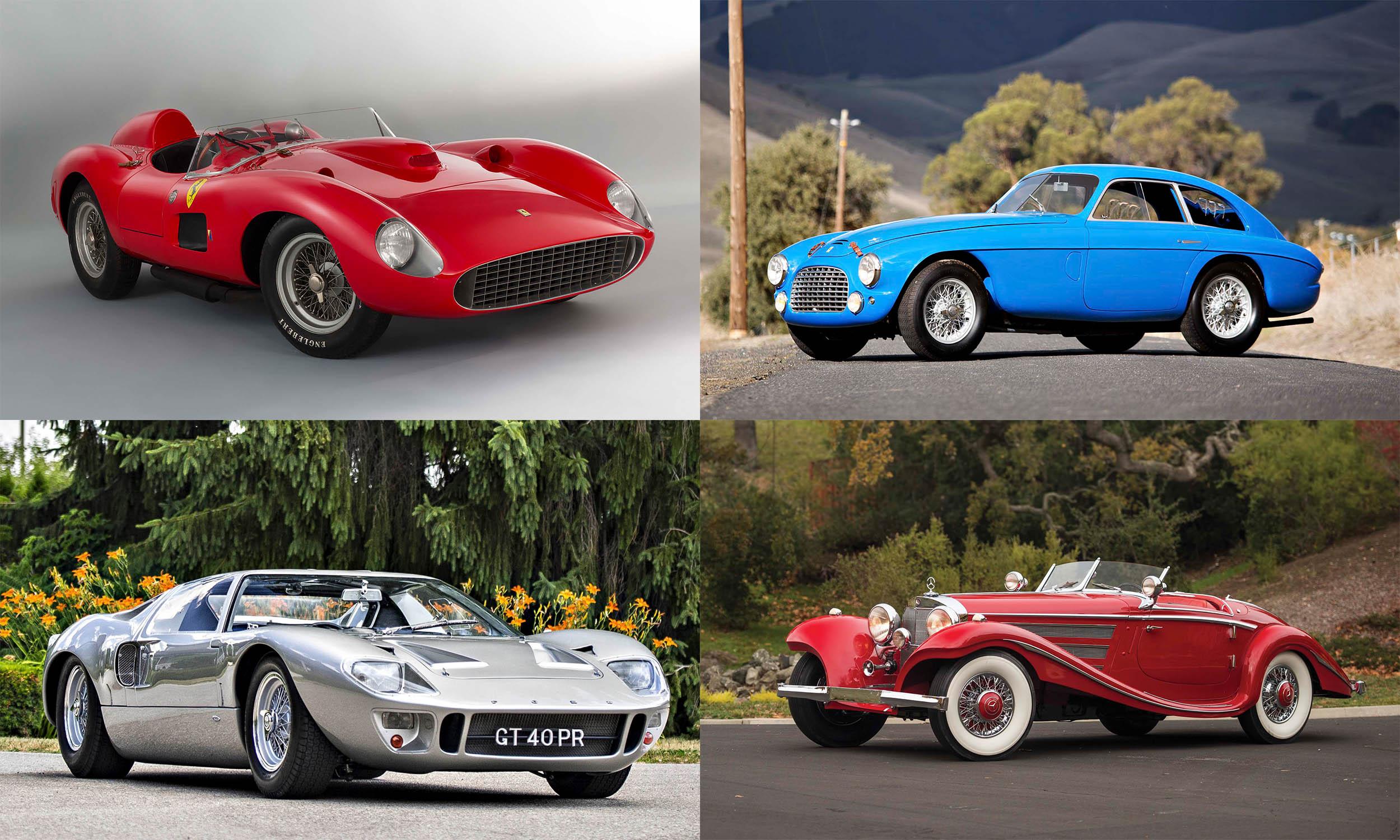 Top Auction Cars