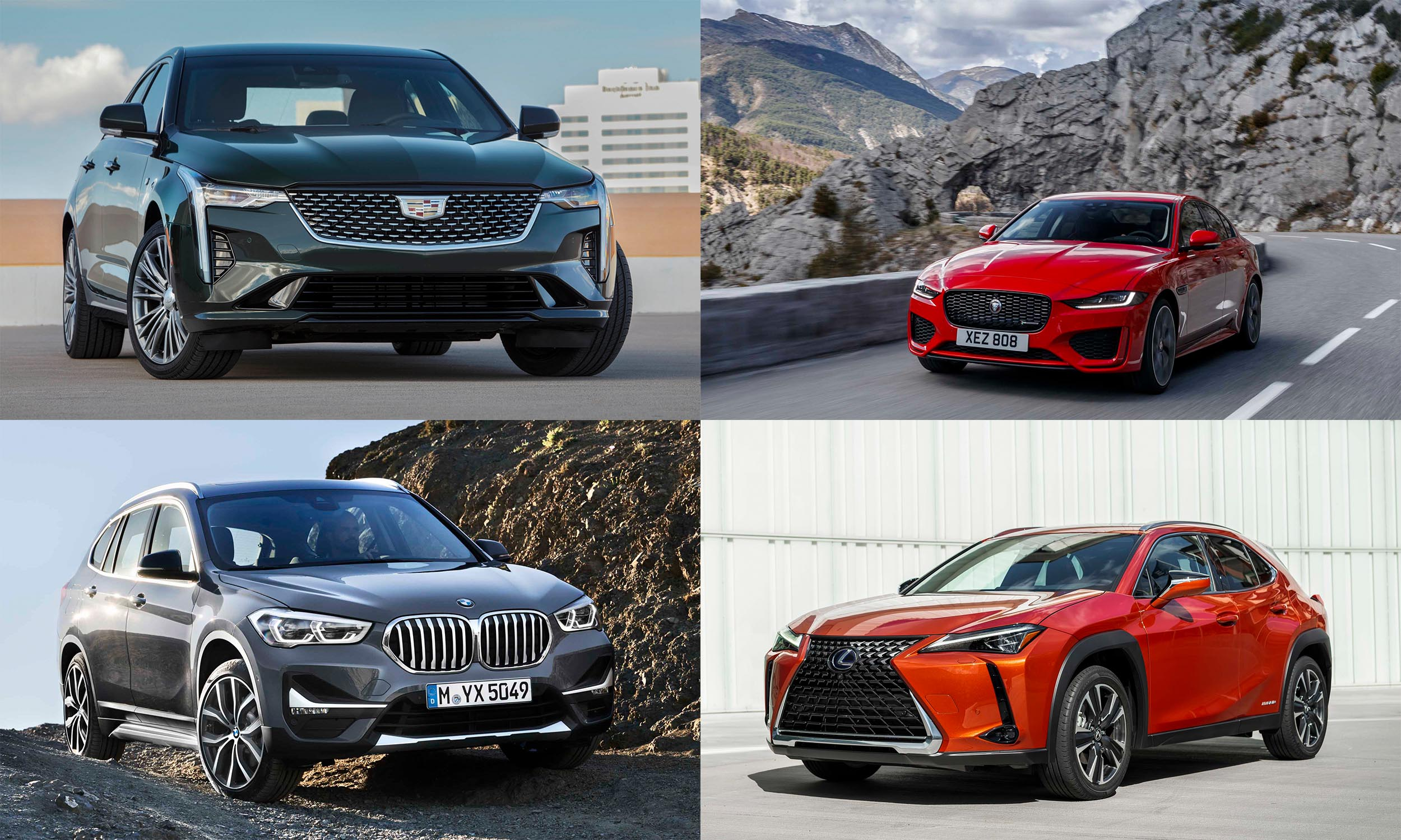 © General Motors; © BMW North America; © Jaguar Land Rover; © Toyota Motor Sales USA