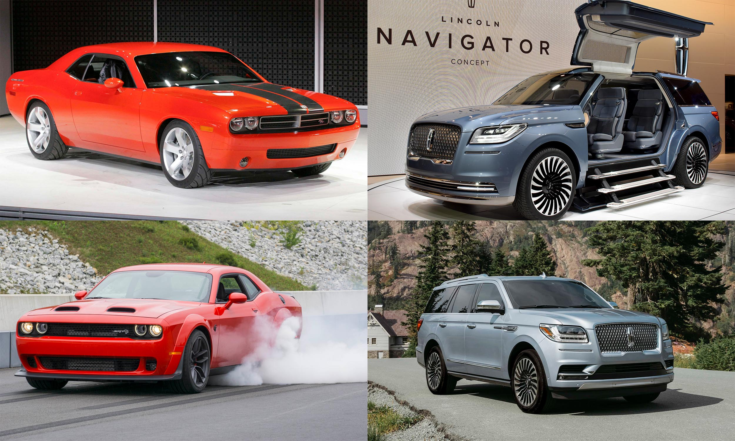 © FCA US, © Automotive Content Experience, © Ford Motor Company