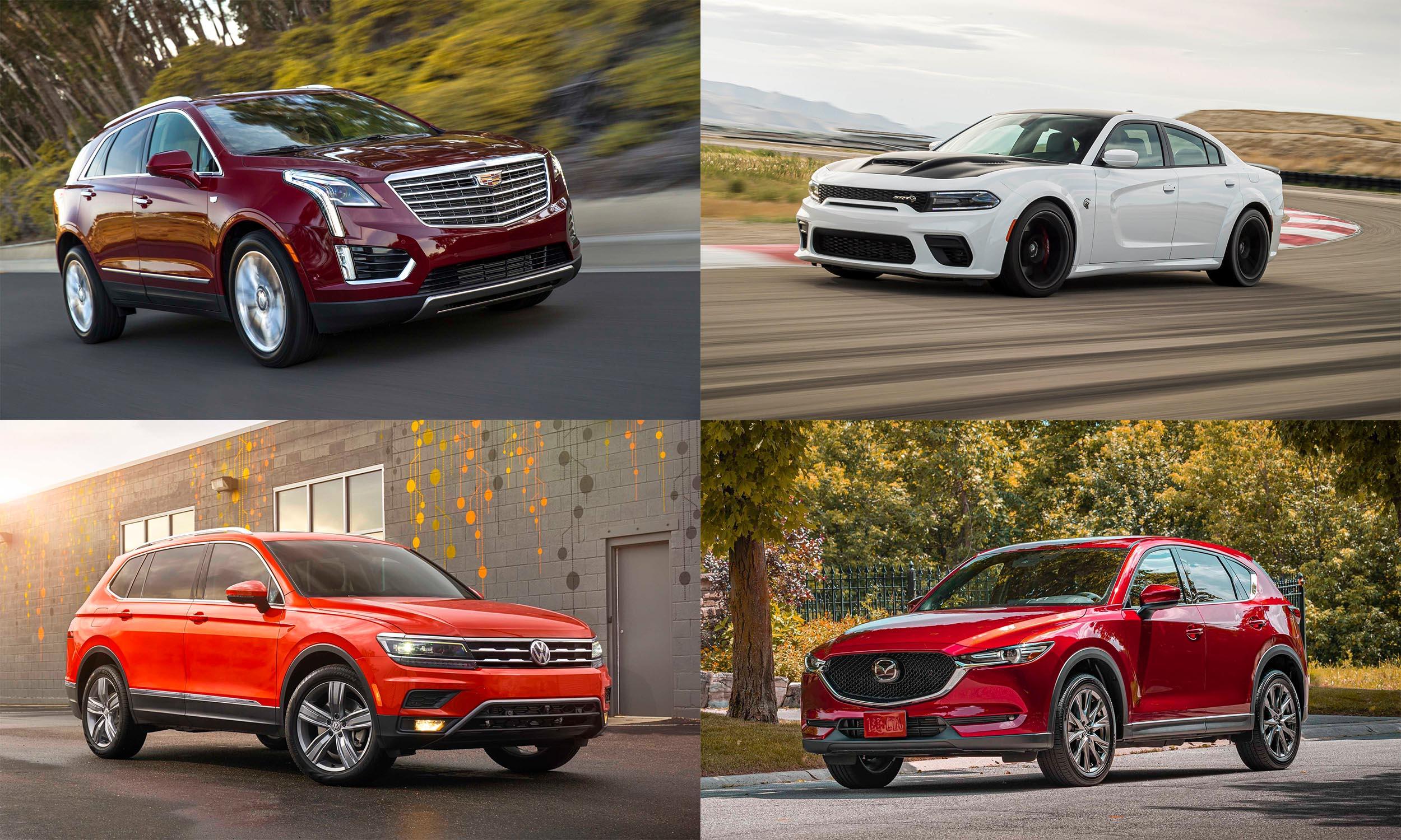 © General Motors, © Volkswagen of America, © FCA US, © Mazda North America