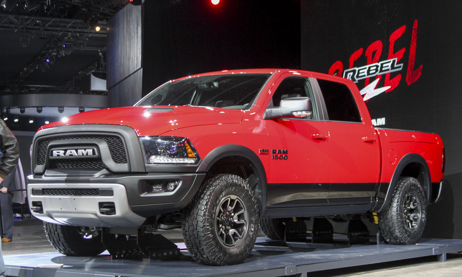 Ram 1500 Rebel (c) Perry Stern