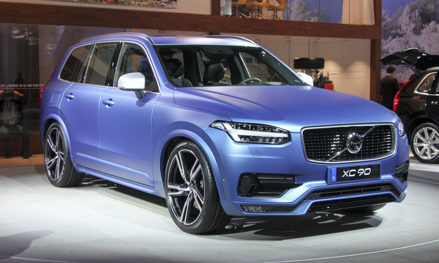 Volvo XC90 R-Design (c) Perry Stern