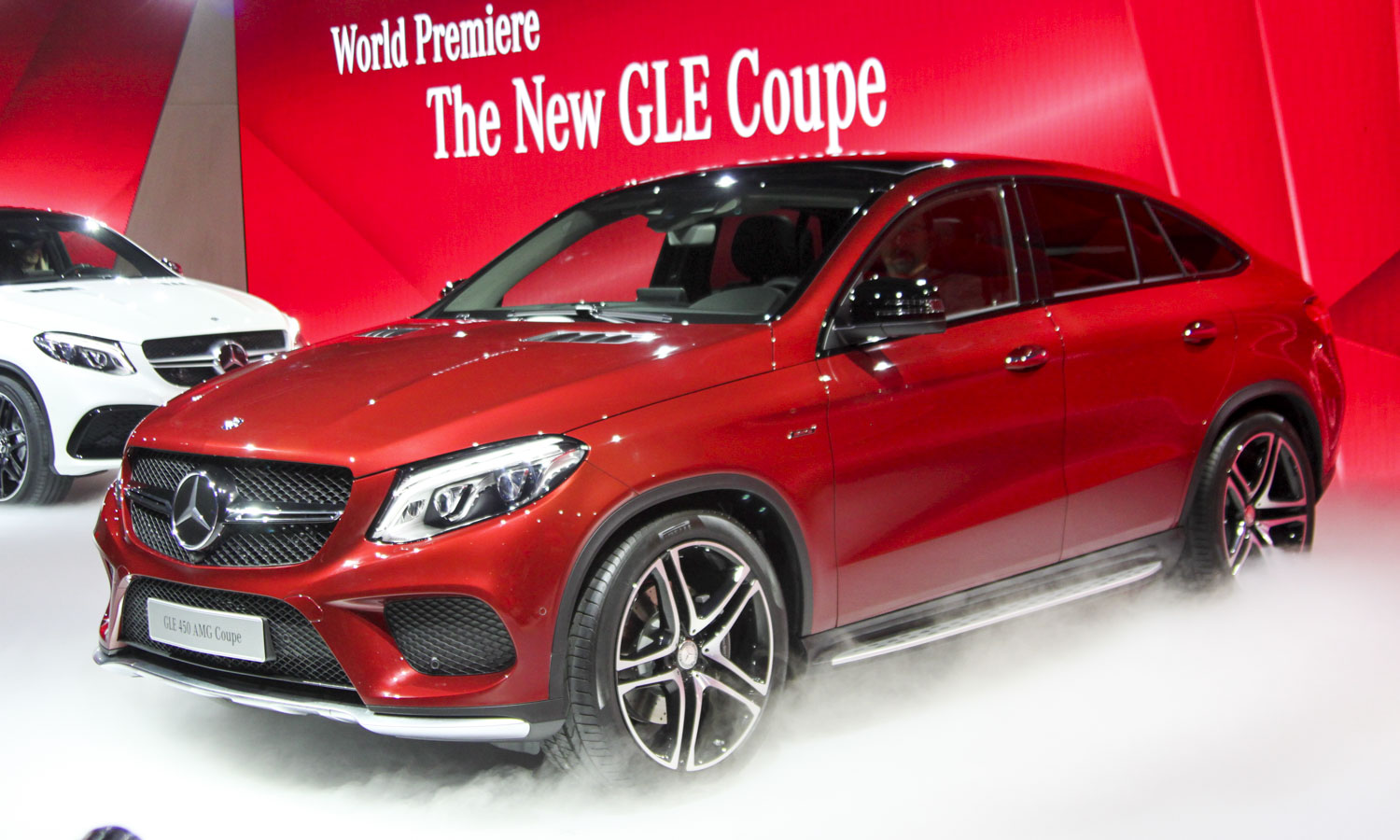 Mercedes-Benz GLE Coupe (c) Perry Stern