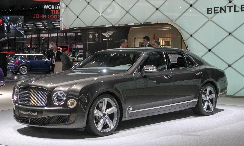 Bentley Mulsanne Speed (c) Perry Stern