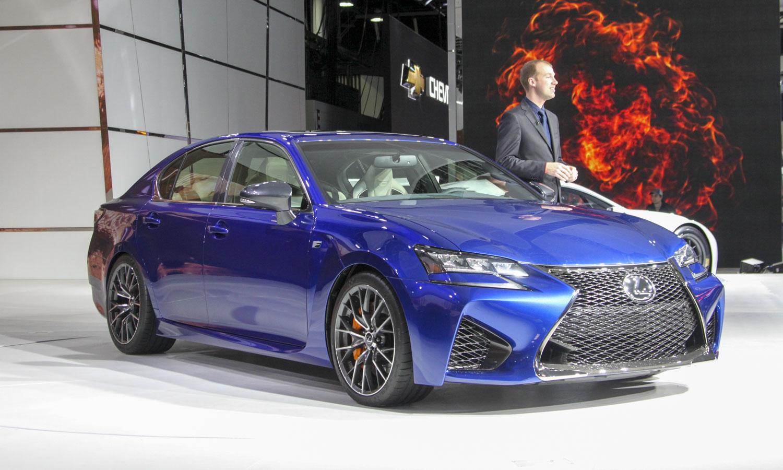 Lexus GS F (c) Perry Stern