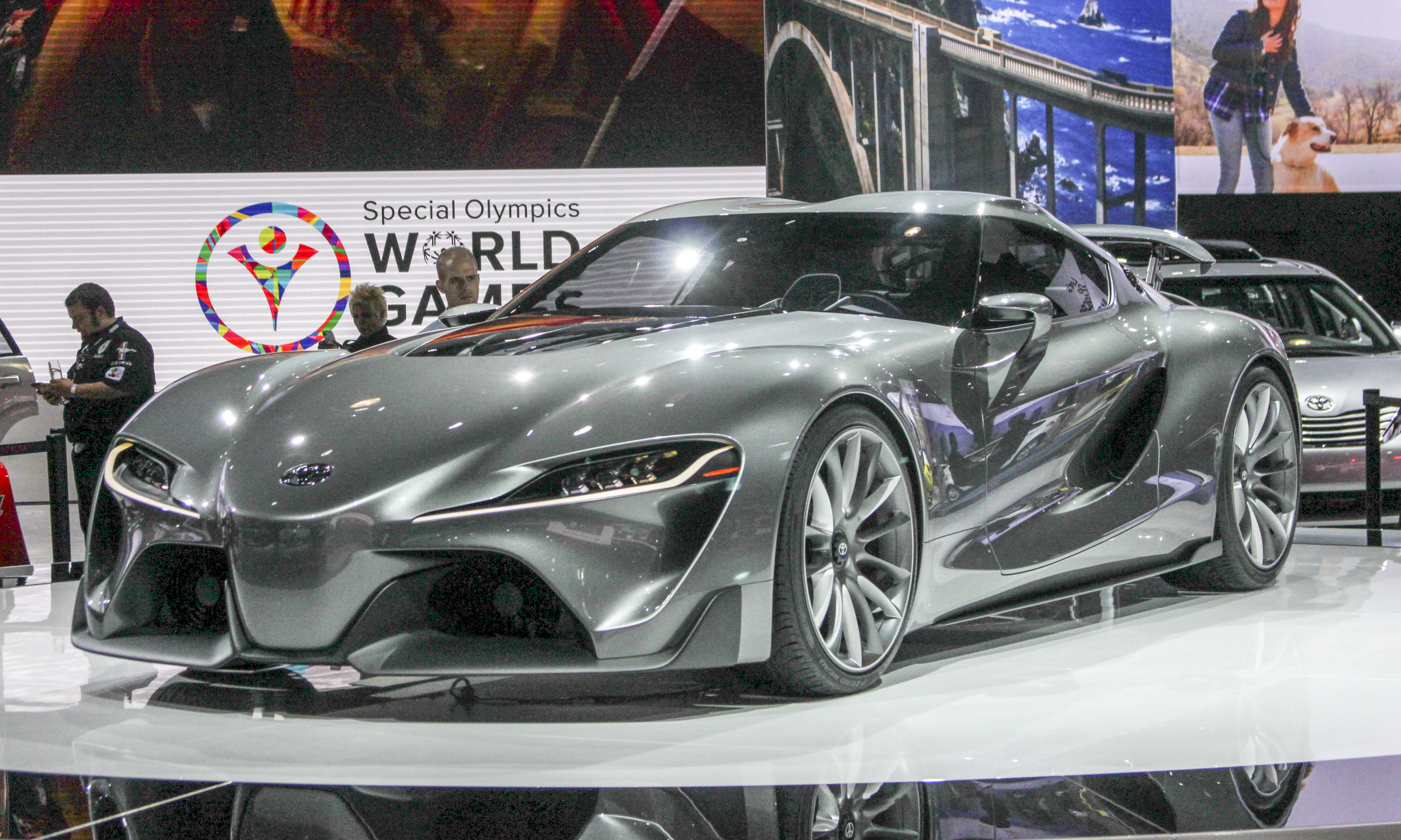 Charmant Perry Stern Toyota FT 1 Concept