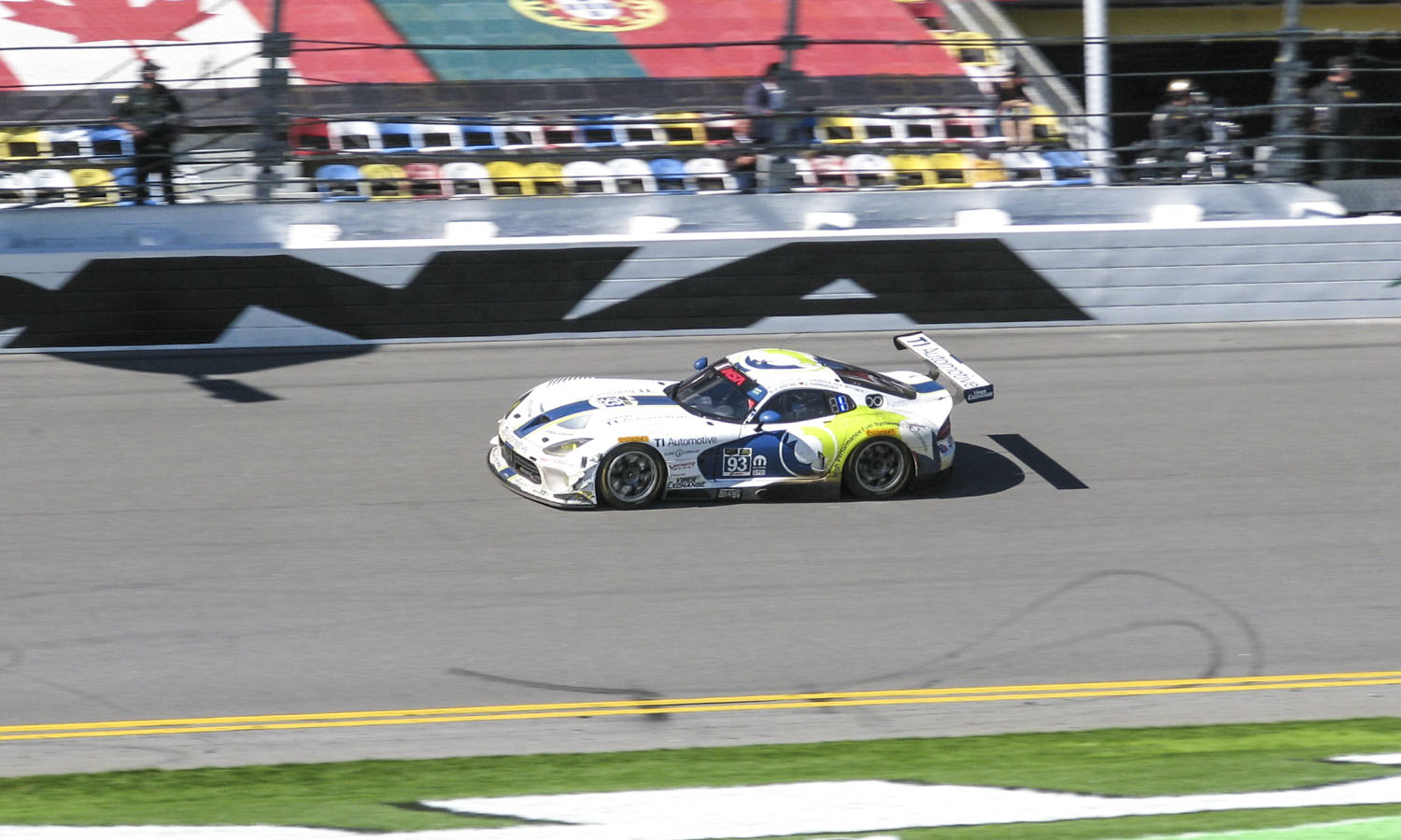 No. 93 Riley Motorsports Dodge Viper SRT (c) Mike Meredith