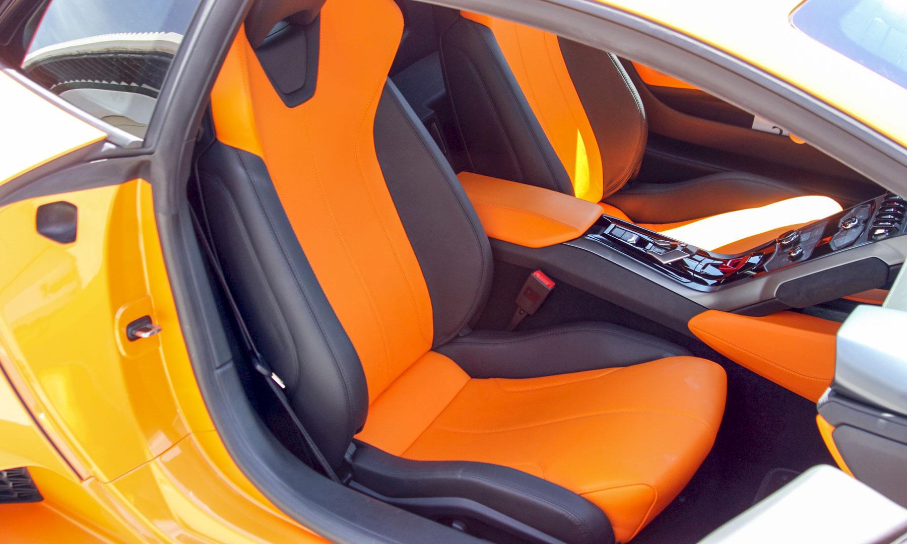 huracan interior orange. perry stern huracan interior orange r