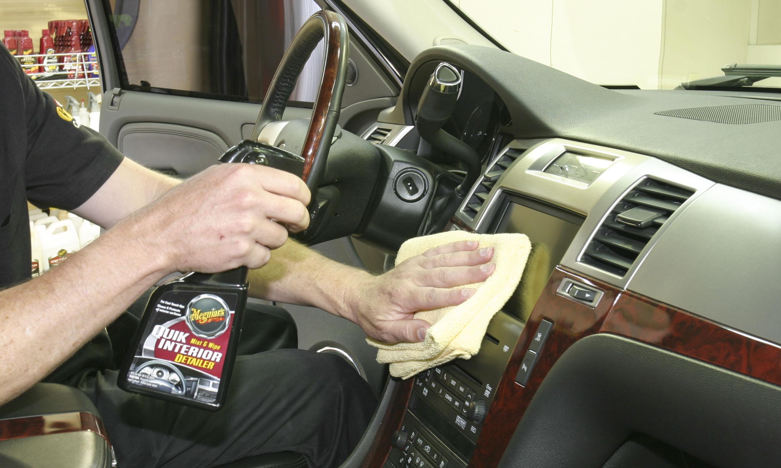 Car interior maintenance - Meguiar S