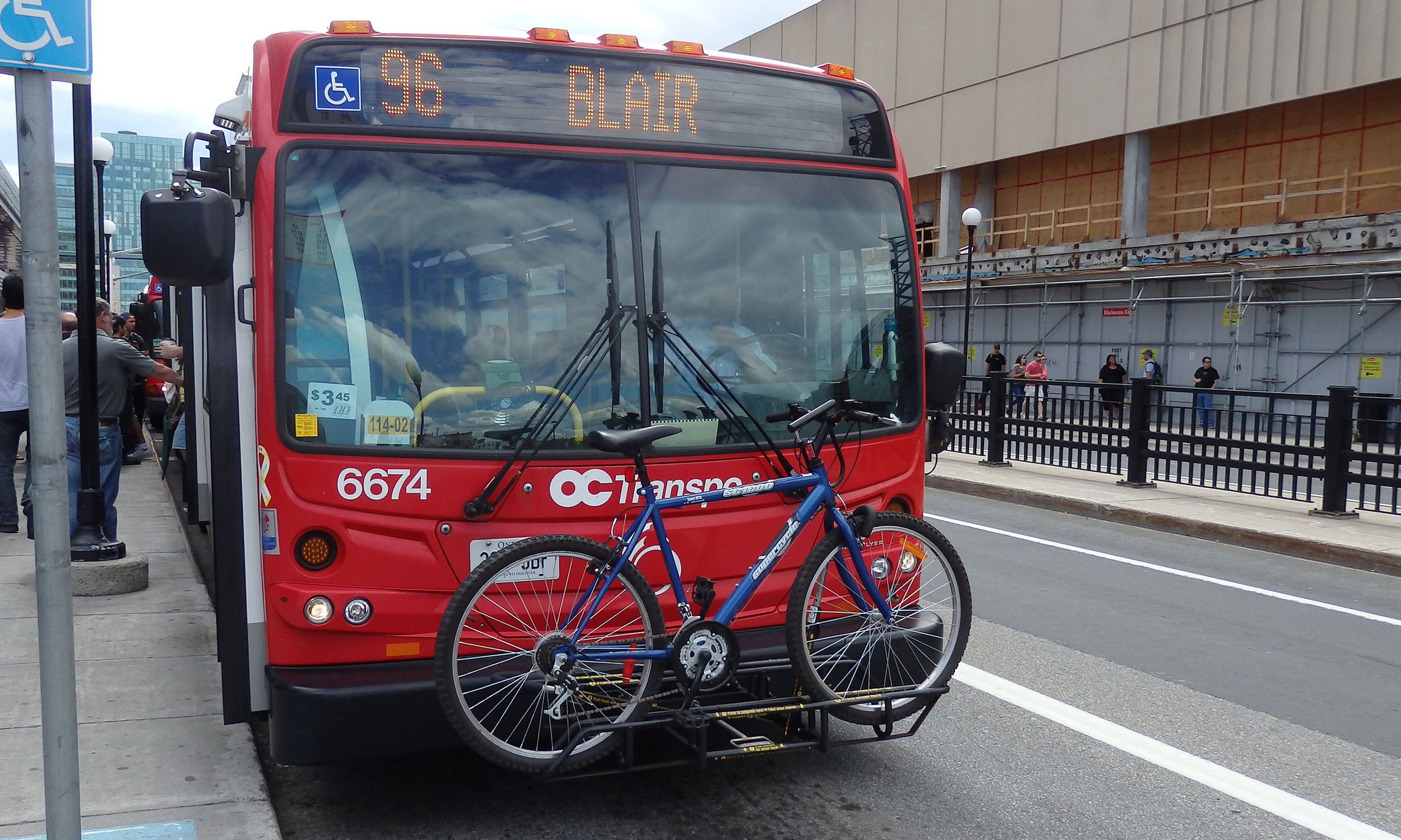Bus with Bike