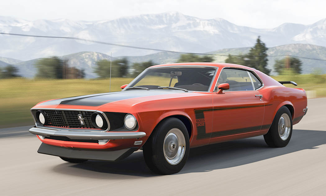Old Ford Muscle Cars. Interesting Ford Auto Oldtimer Classic ...