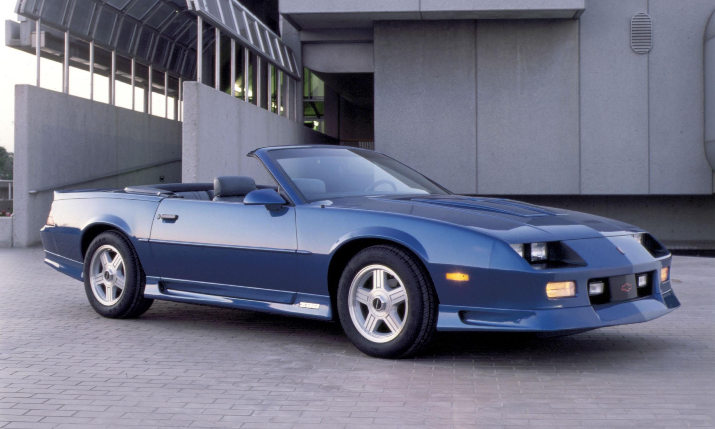 Chevrolet Camaro: A Brief History - » AutoNXT