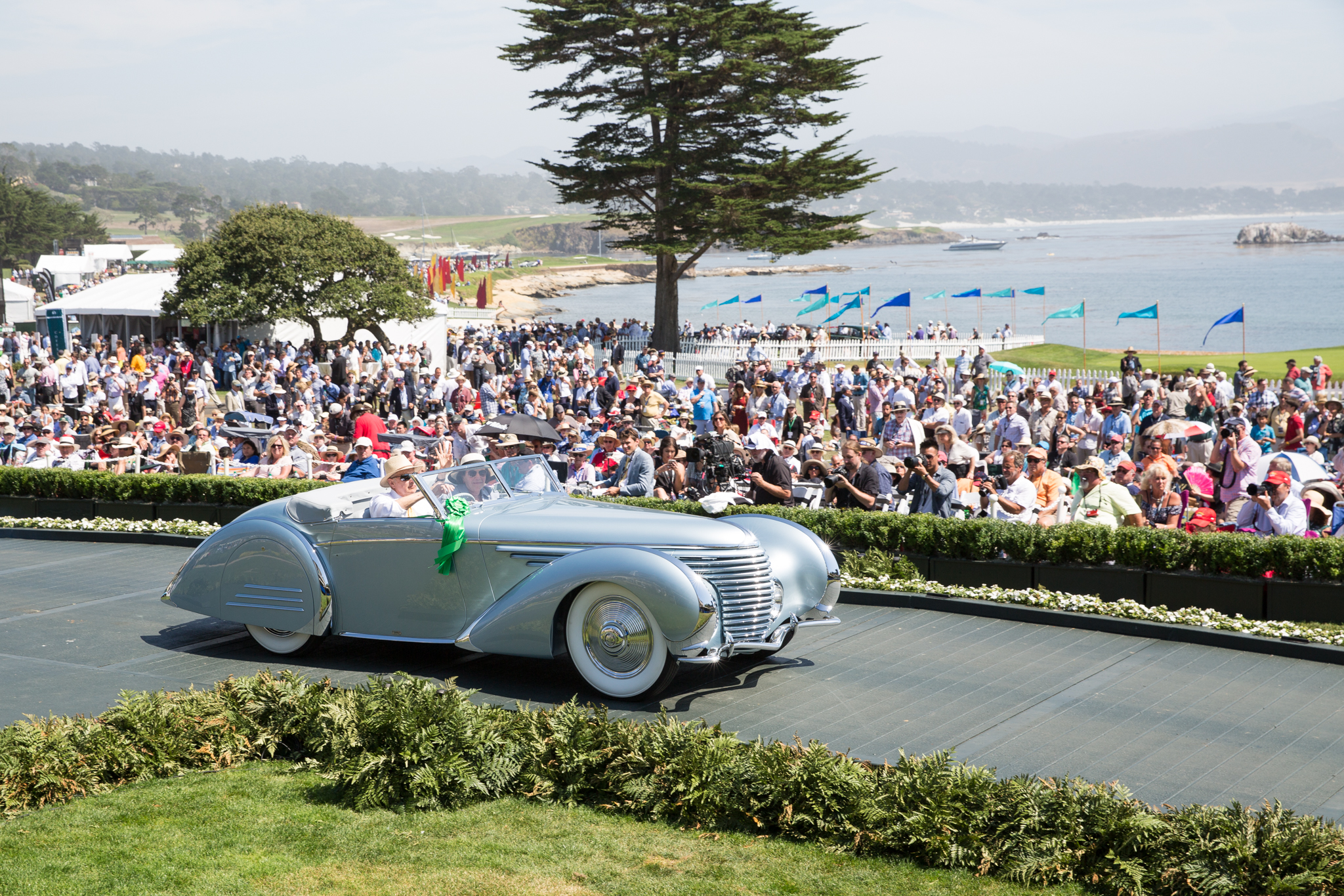 Pebble Beach Car Show Class Winners Pictures