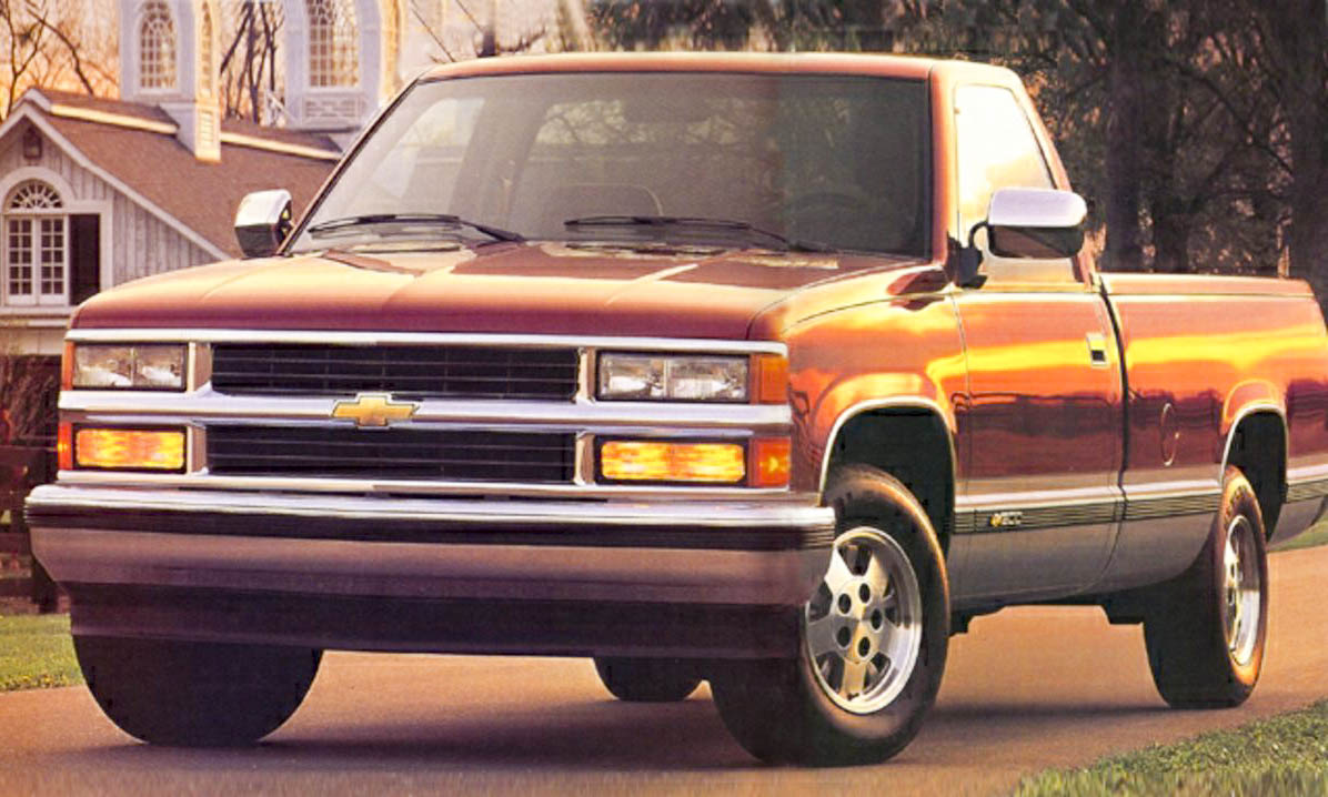 Pickup 1995 chevy pickup : Most Stolen Cars of 2014 — By State - » AutoNXT
