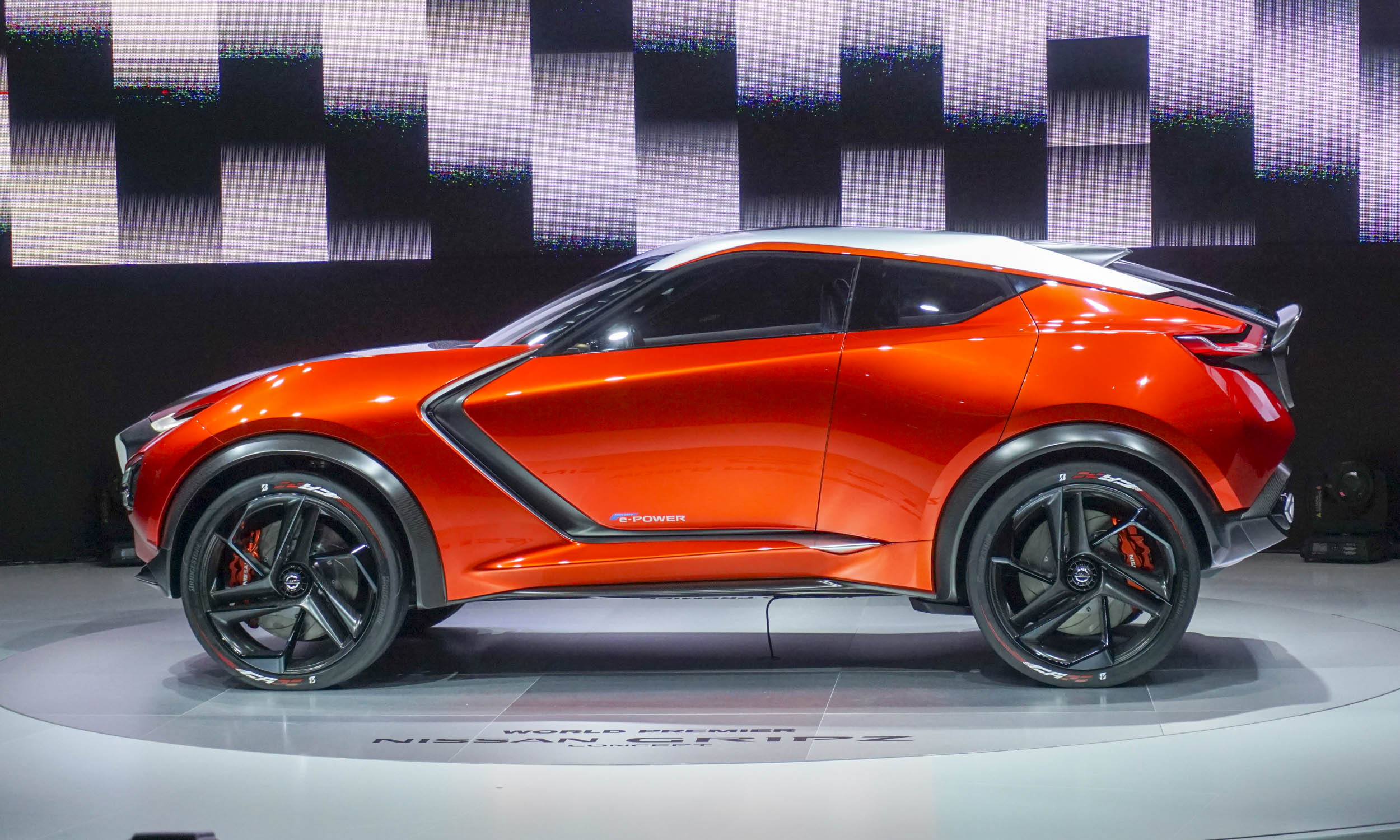 nissan gripz concept takes hold in frankfurt autonxt. Black Bedroom Furniture Sets. Home Design Ideas