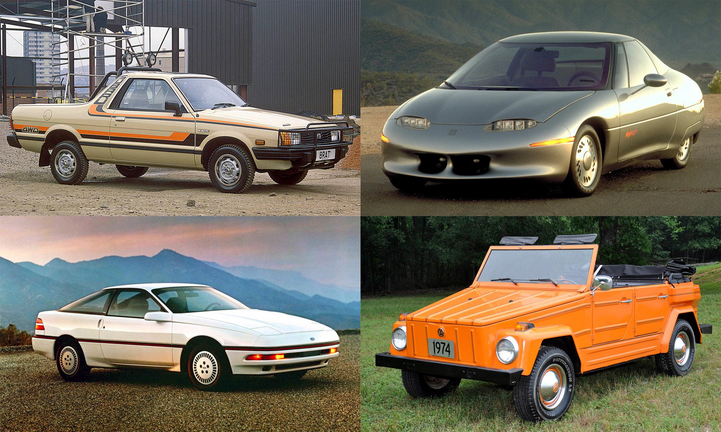 © Subaru of America, Inc.; © General Motors ; © Ford Motor Company; © Volkswagen of America, Inc.