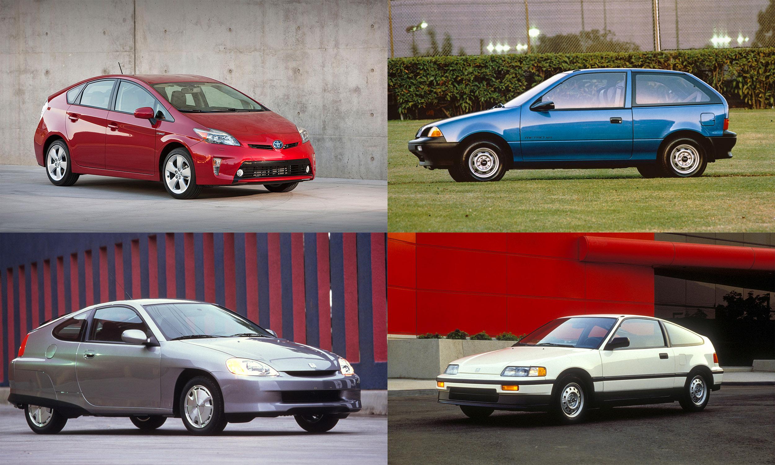© Toyota; General Motors; Honda; Honda