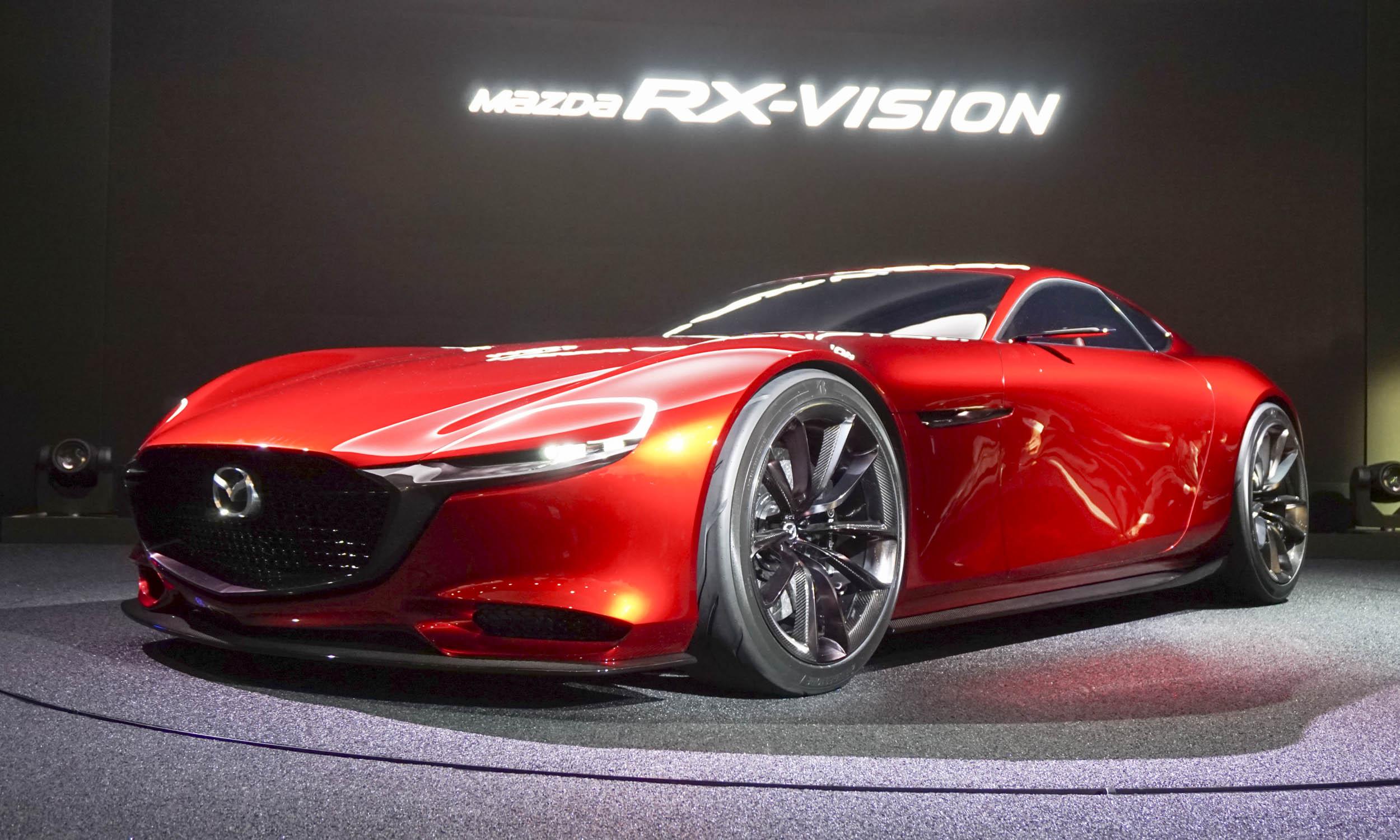 2015 Tokyo Motor Show  Mazda Rx-vision