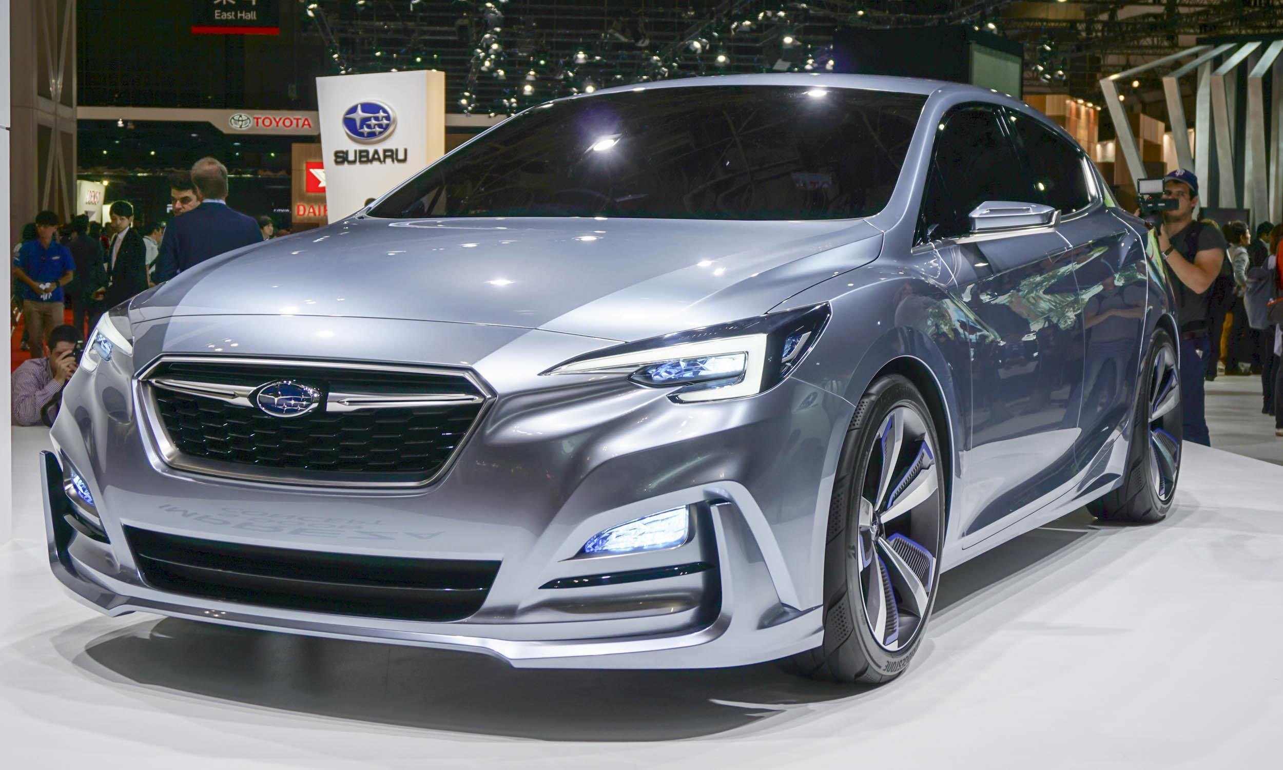 2015 Tokyo Motor Show Subaru Impreza Viziv Concepts  AutoNXT
