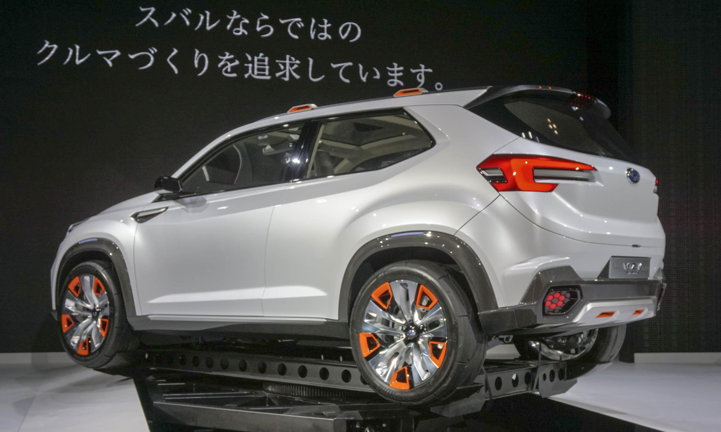2015 Tokyo Motor Show Subaru Impreza Viziv Concepts
