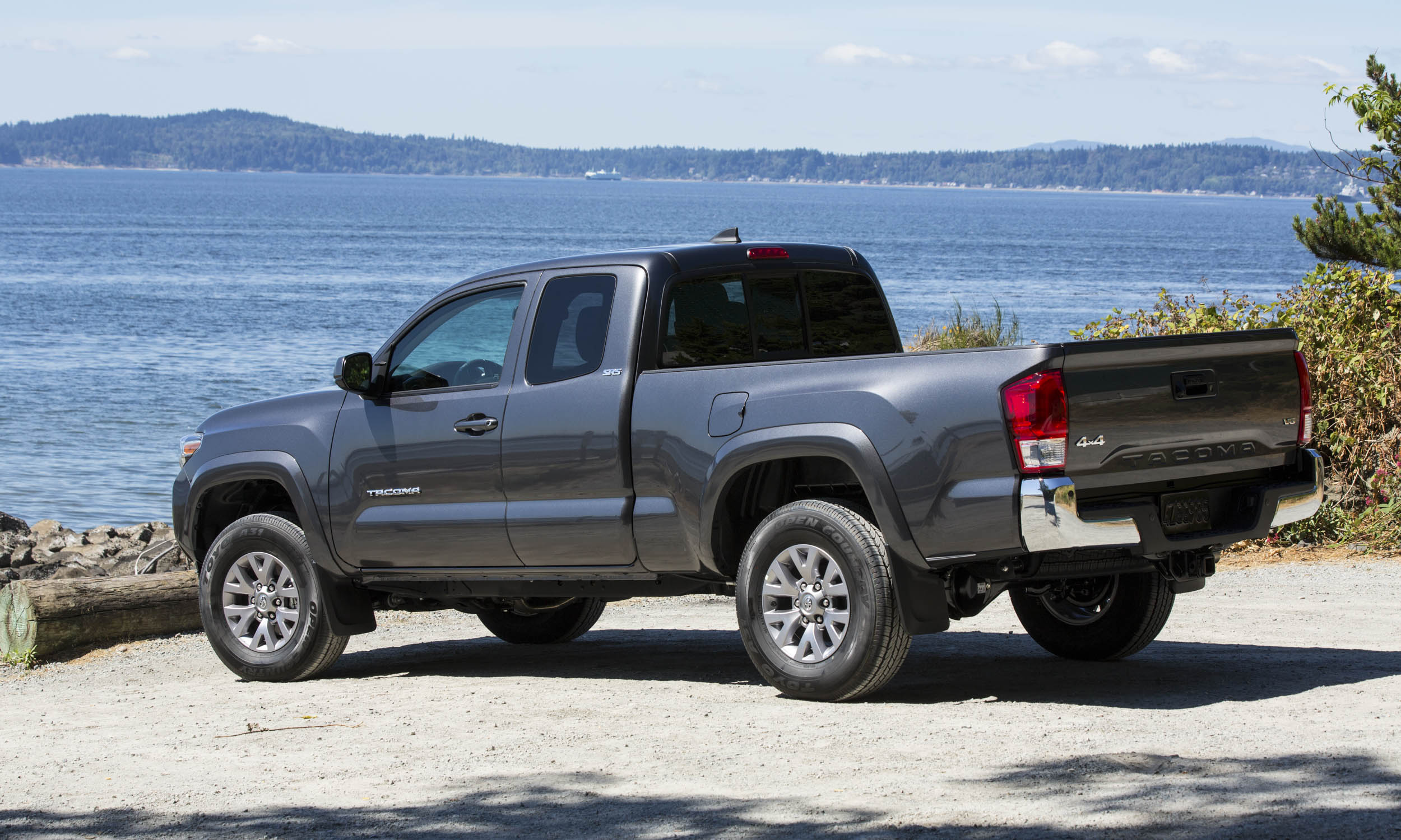 doors trd on a tacoma cab wheels toyota pickup stylish savage muscular sport double door four dominant