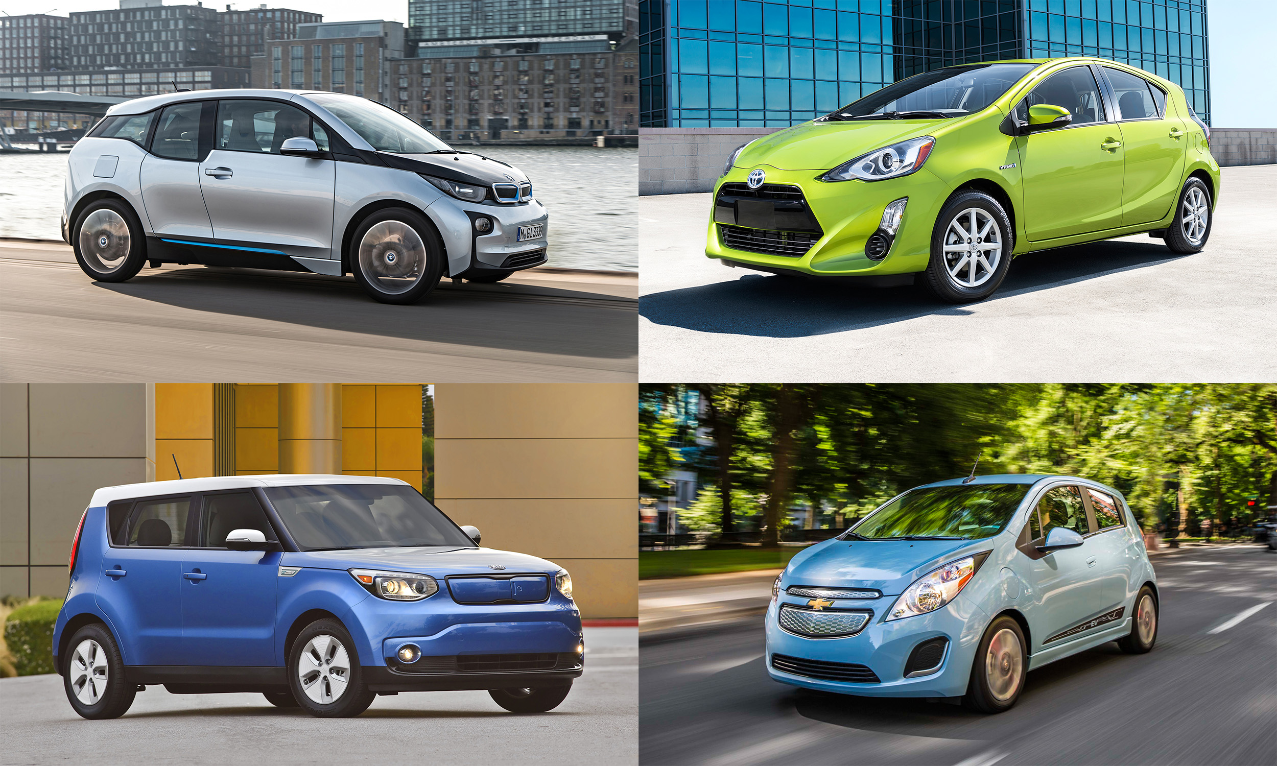 © BMW of North America, © General Motors, © Kia Motors America, © Toyota Motor Sales, U.S.A., Inc.