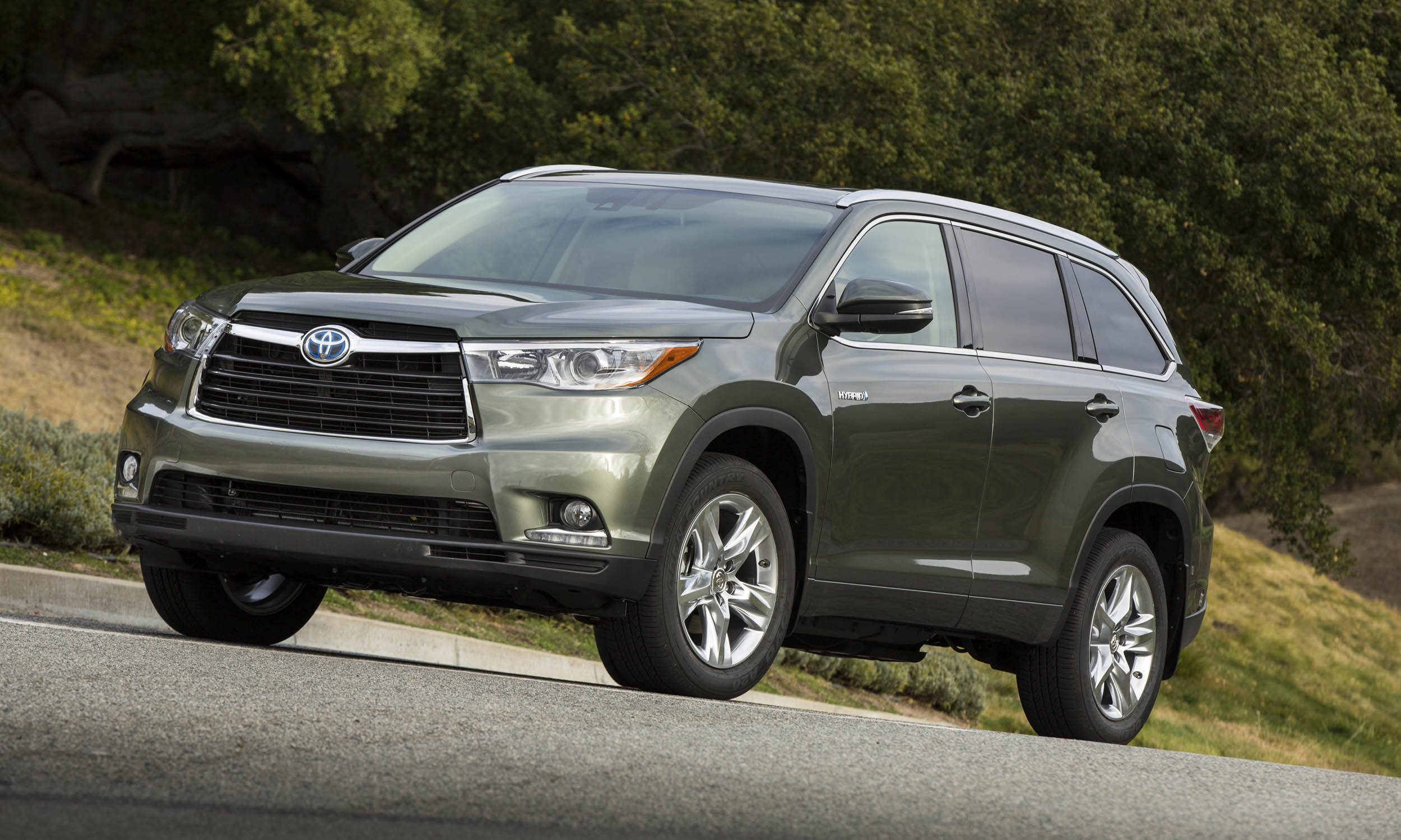 Toyota motor sales usa toyota highlander hybrid 4wd
