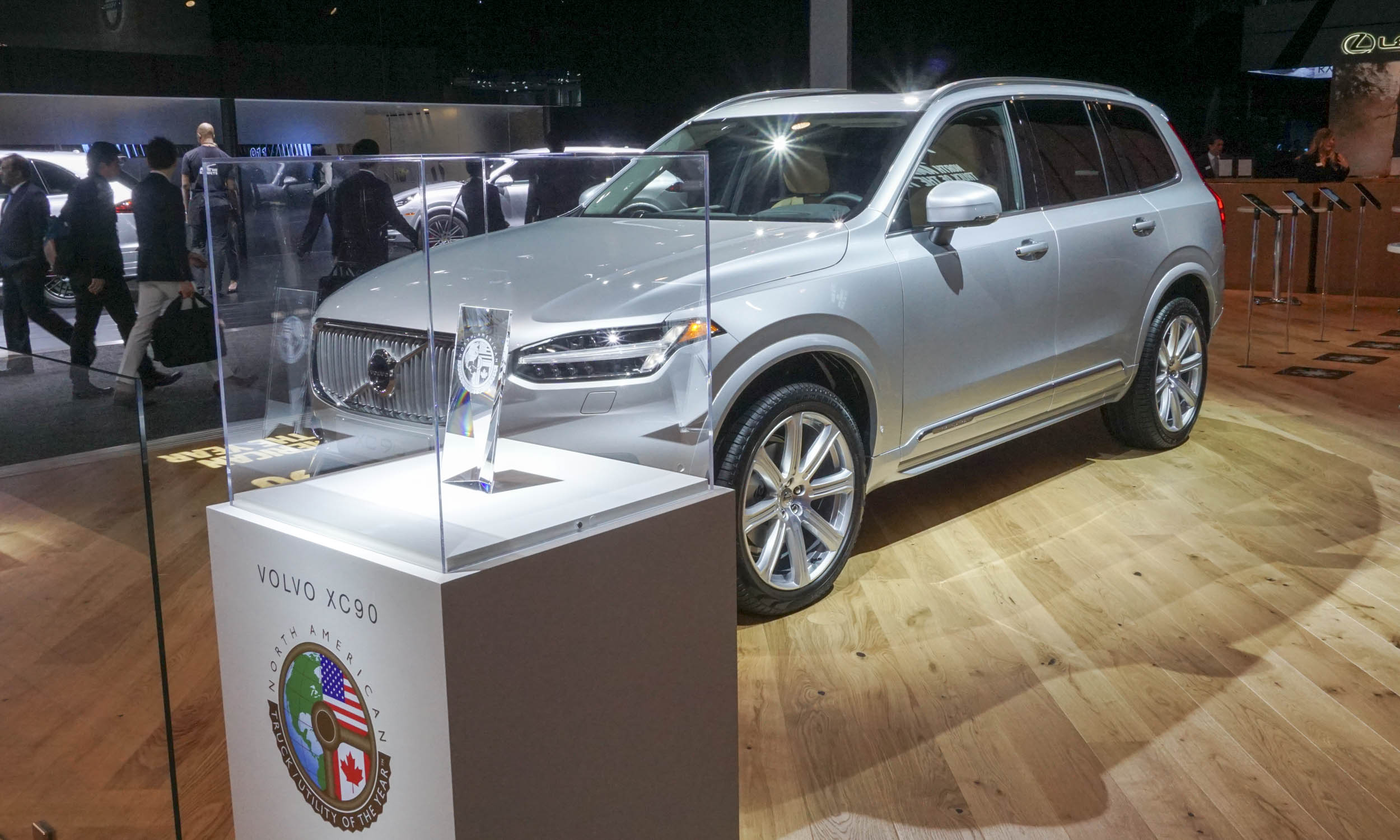 Truck Of The Year. Style. Volvo XC90 Wins 2016 ...