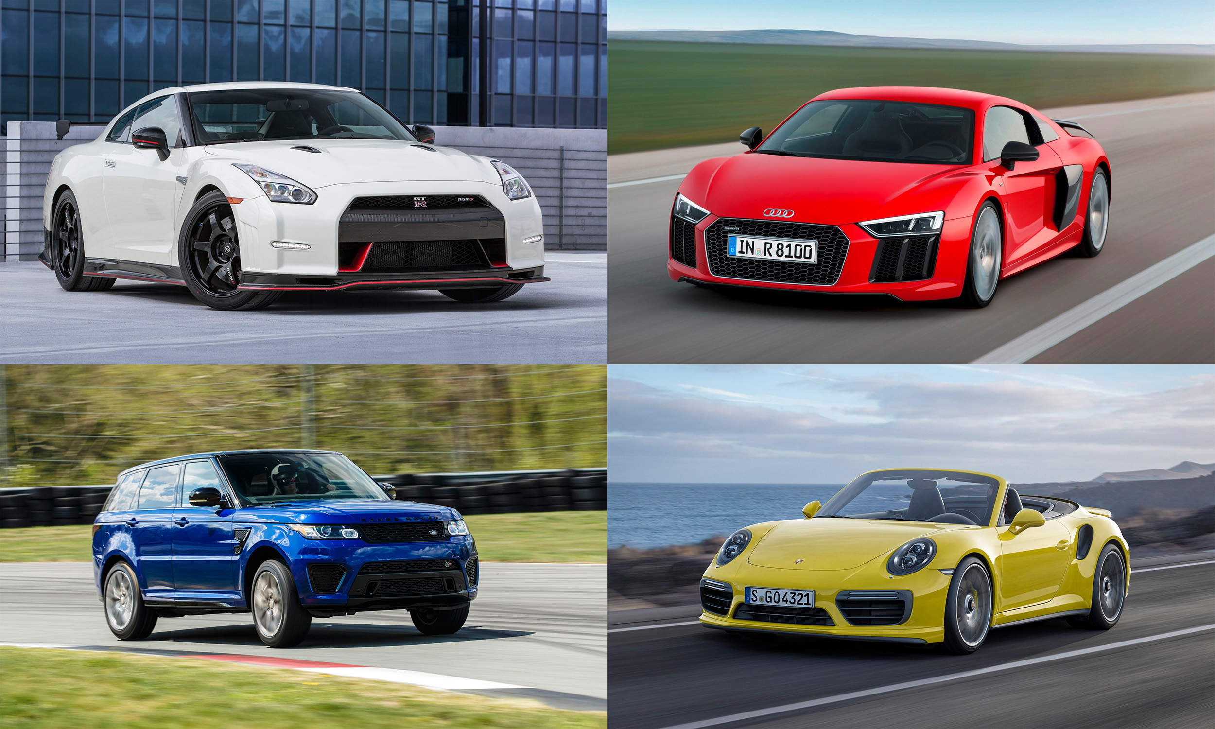High Performance Awd Vehicles Of 2016