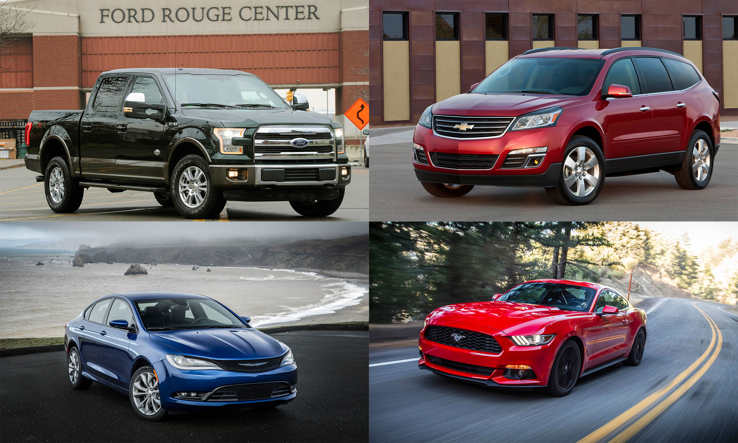 Bestselling American Cars