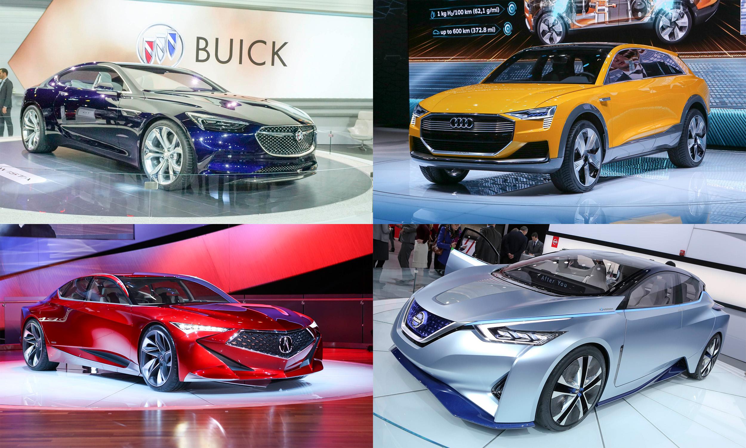 2016 Detroit Auto Show Concept Cars