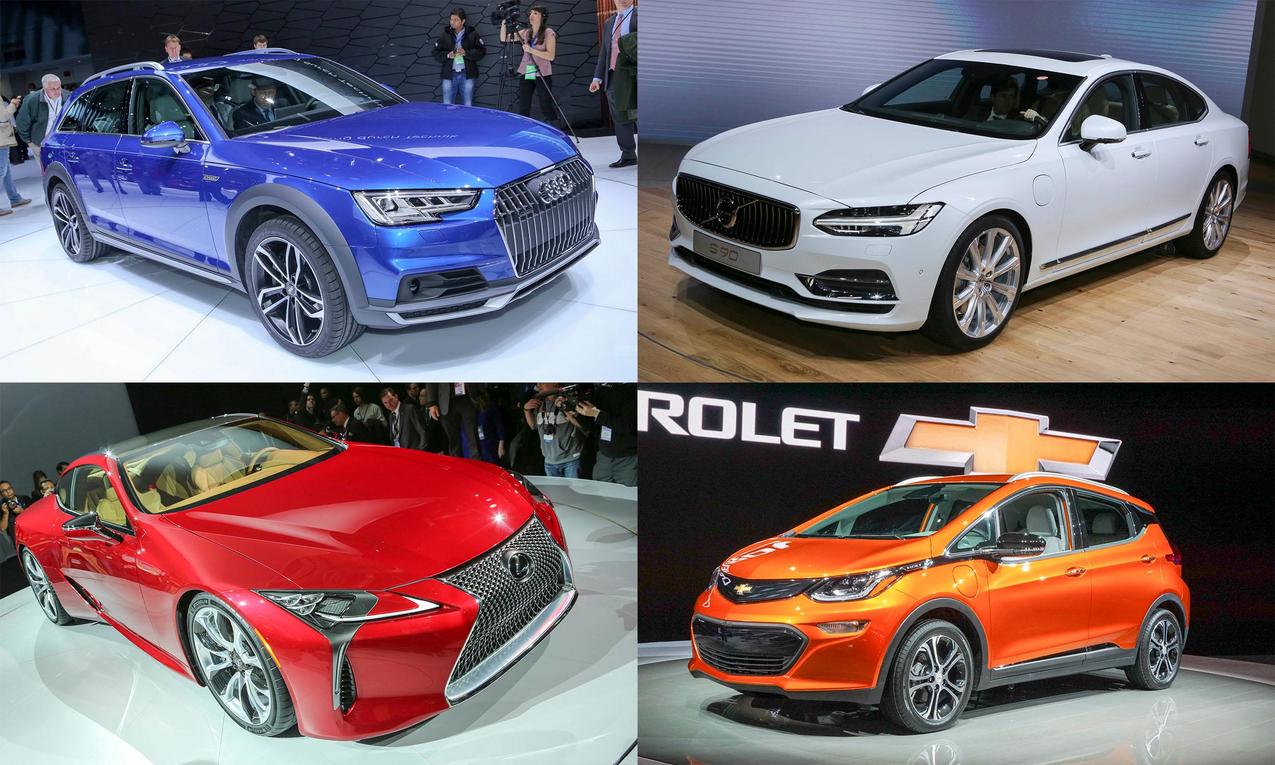 2016 Detroit Auto Show Top Production Cars