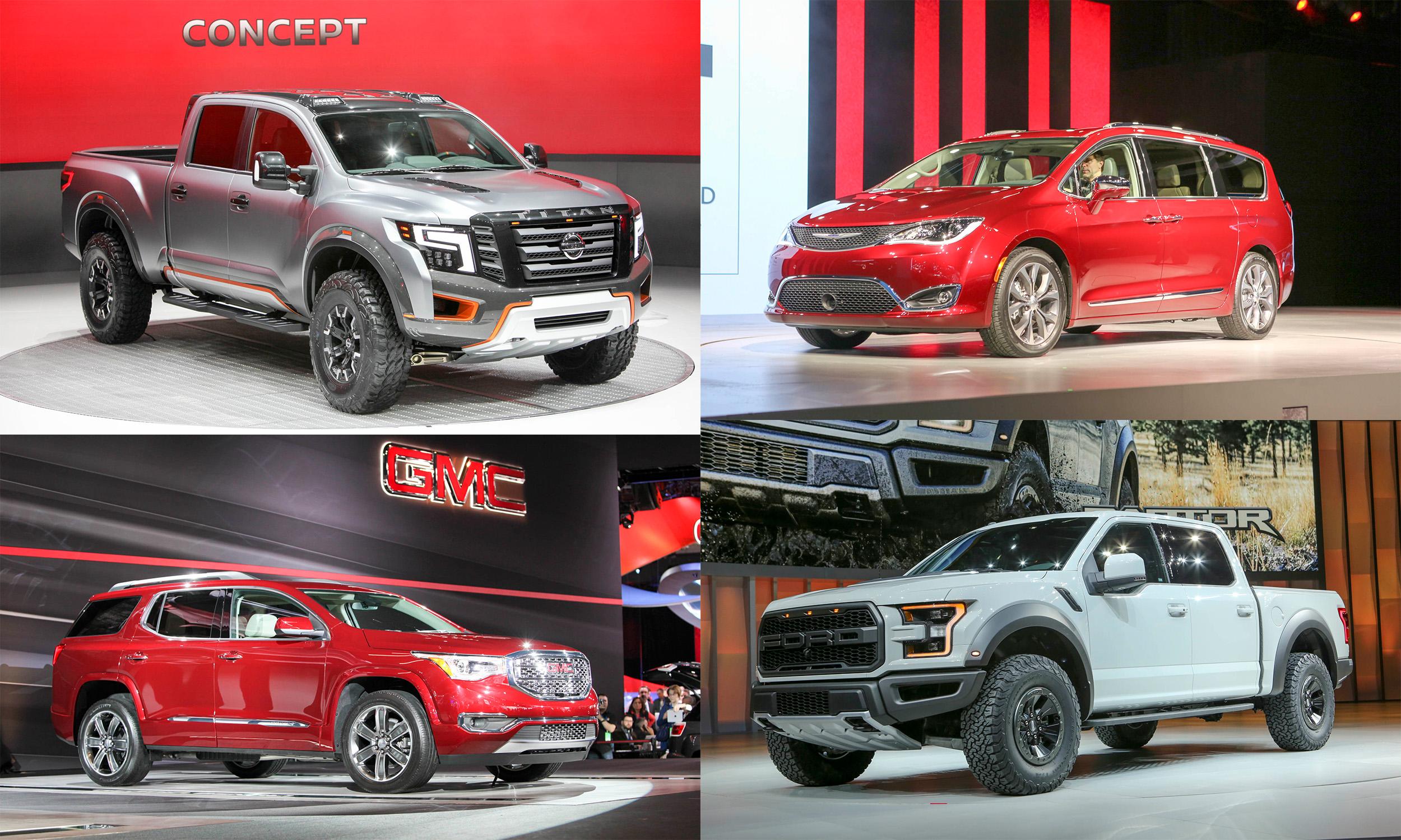 SUVs-Trucks
