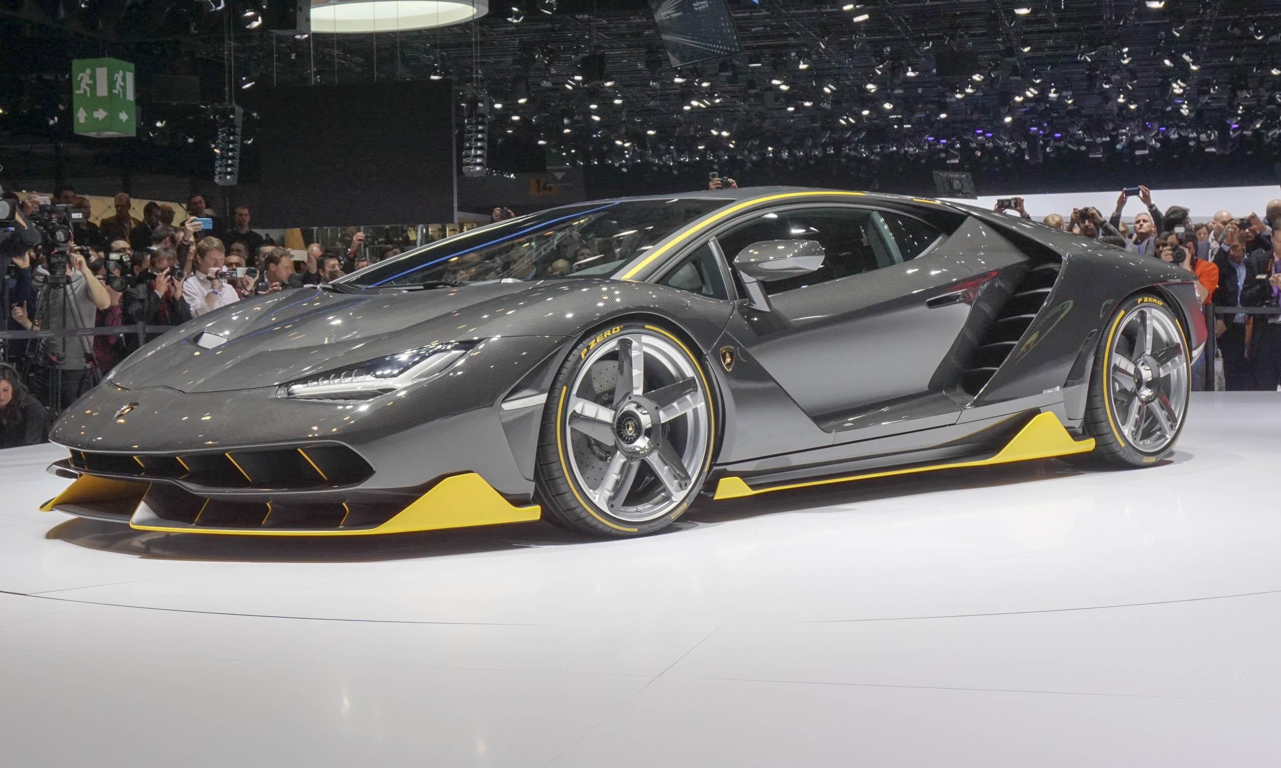 2016 Geneva Motor Show Lamborghini Centenario 187 Autonxt