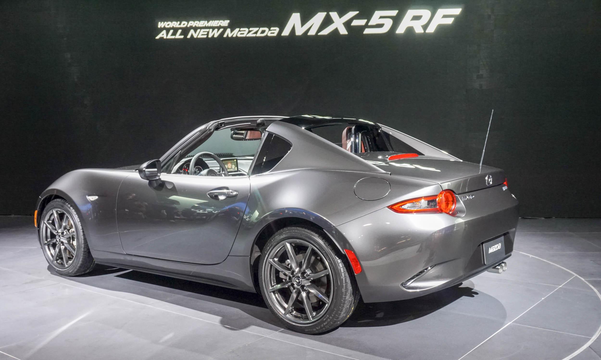Amazing 2016 New York Auto Show 2017 Mazda MX5 RF  AutoNXT