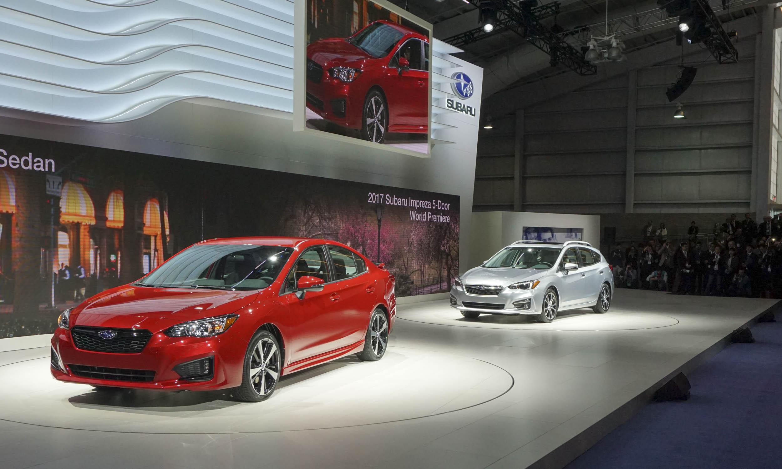 2016 New York Auto Show 2017 Subaru Impreza Autonxt