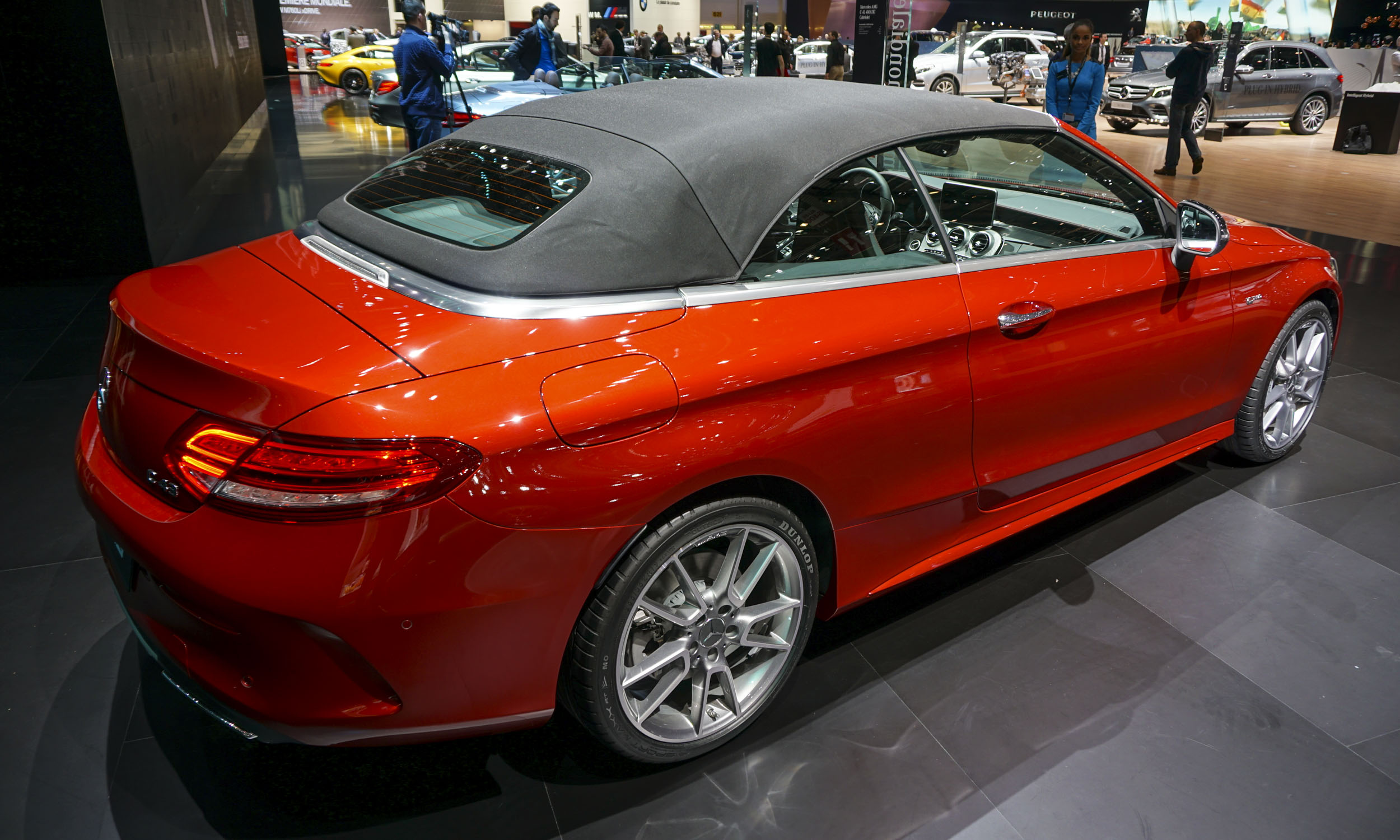 2016 geneva motor show mercedes benz c class cabriolet. Black Bedroom Furniture Sets. Home Design Ideas