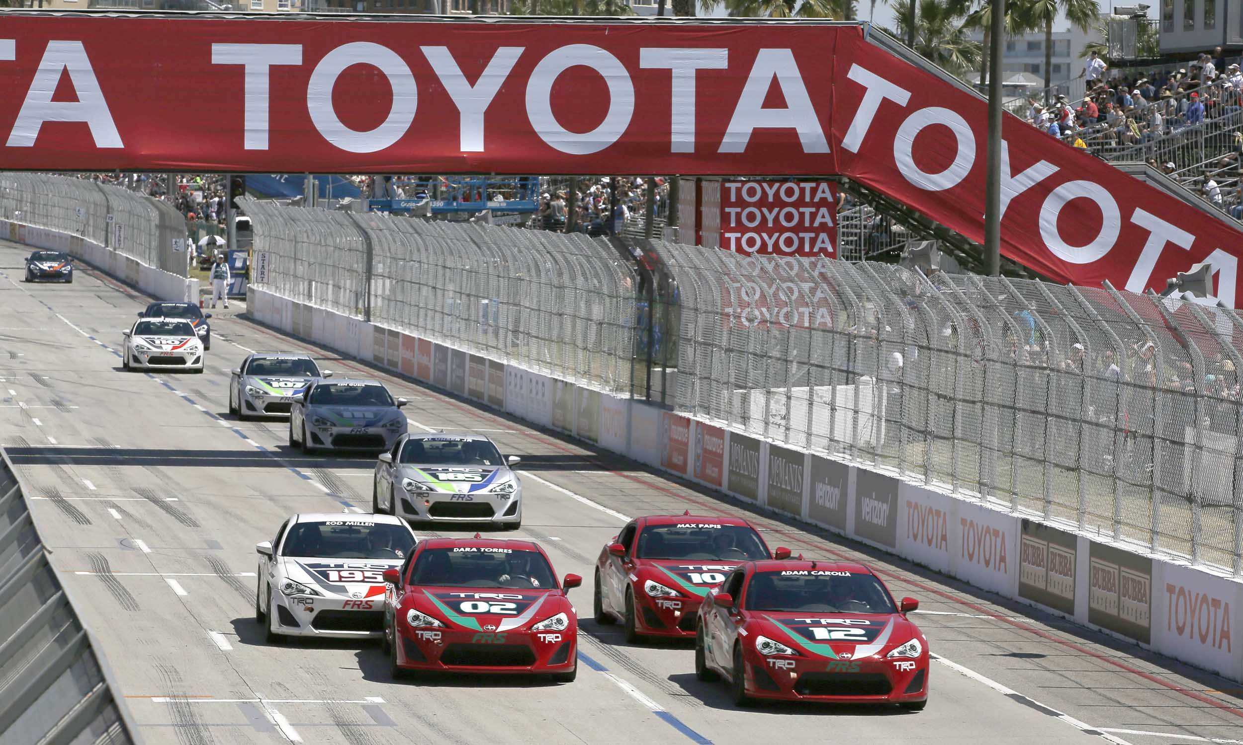 © Courtesy of Toyota Racing