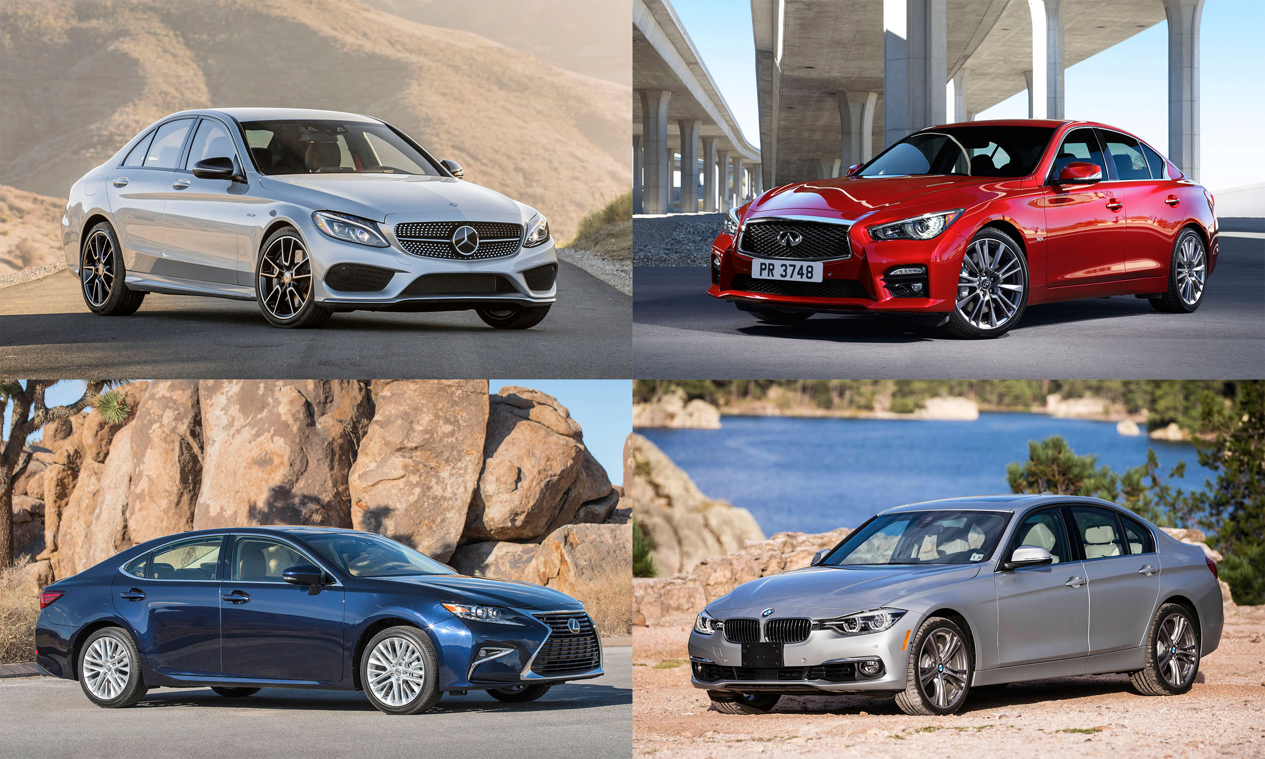 © Mercedes-Benz USA, Infiniti North America, Inc., BMW of North America, Toyota Motor Sales
