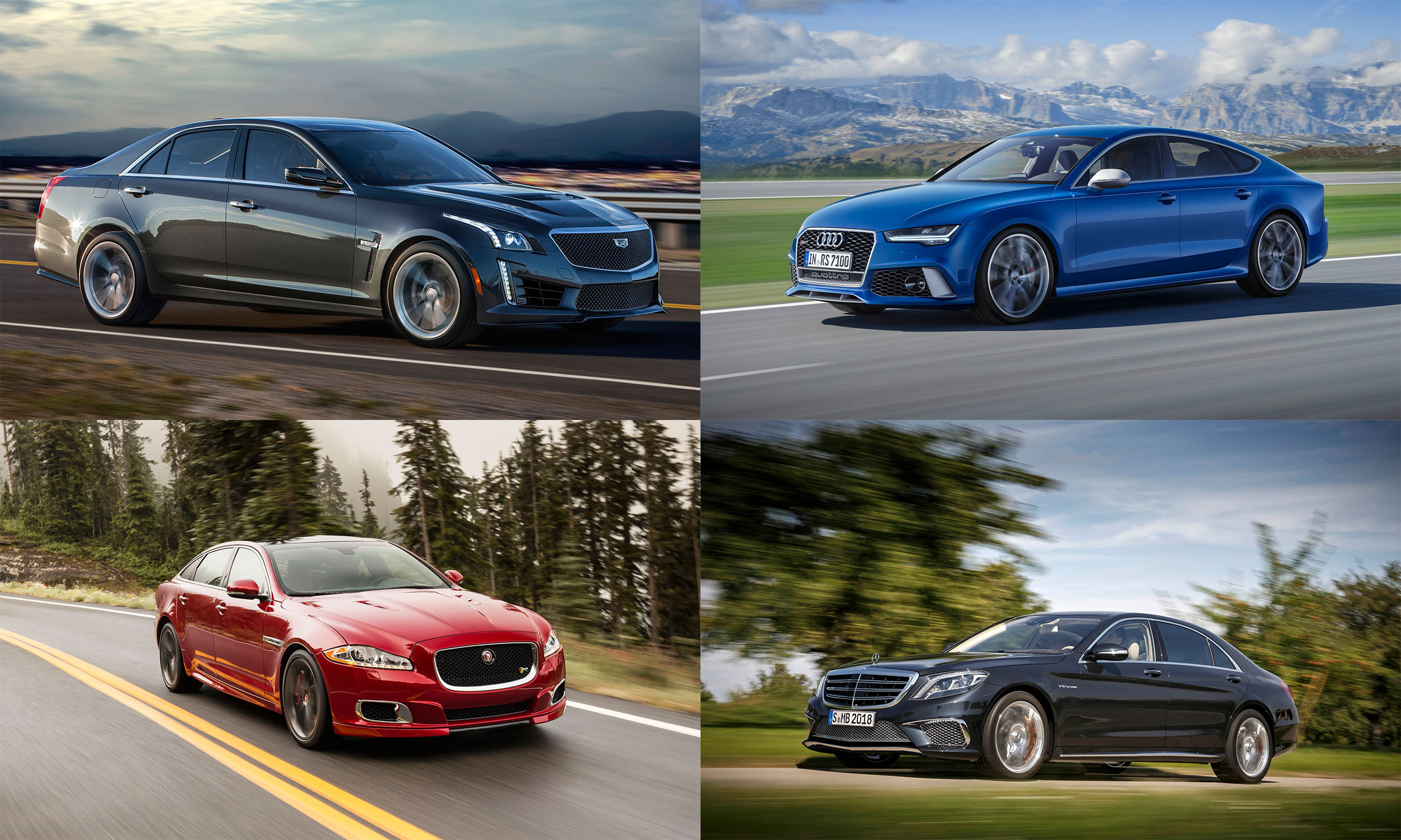 Luxury Performance Sedans