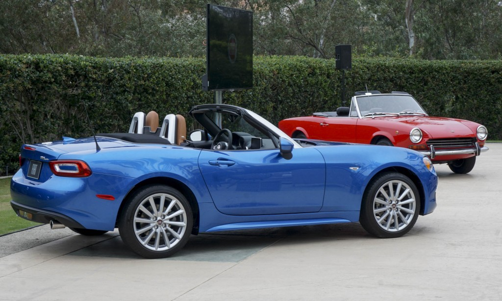 2017 fiat 124 spider first drive review autonxt. Black Bedroom Furniture Sets. Home Design Ideas