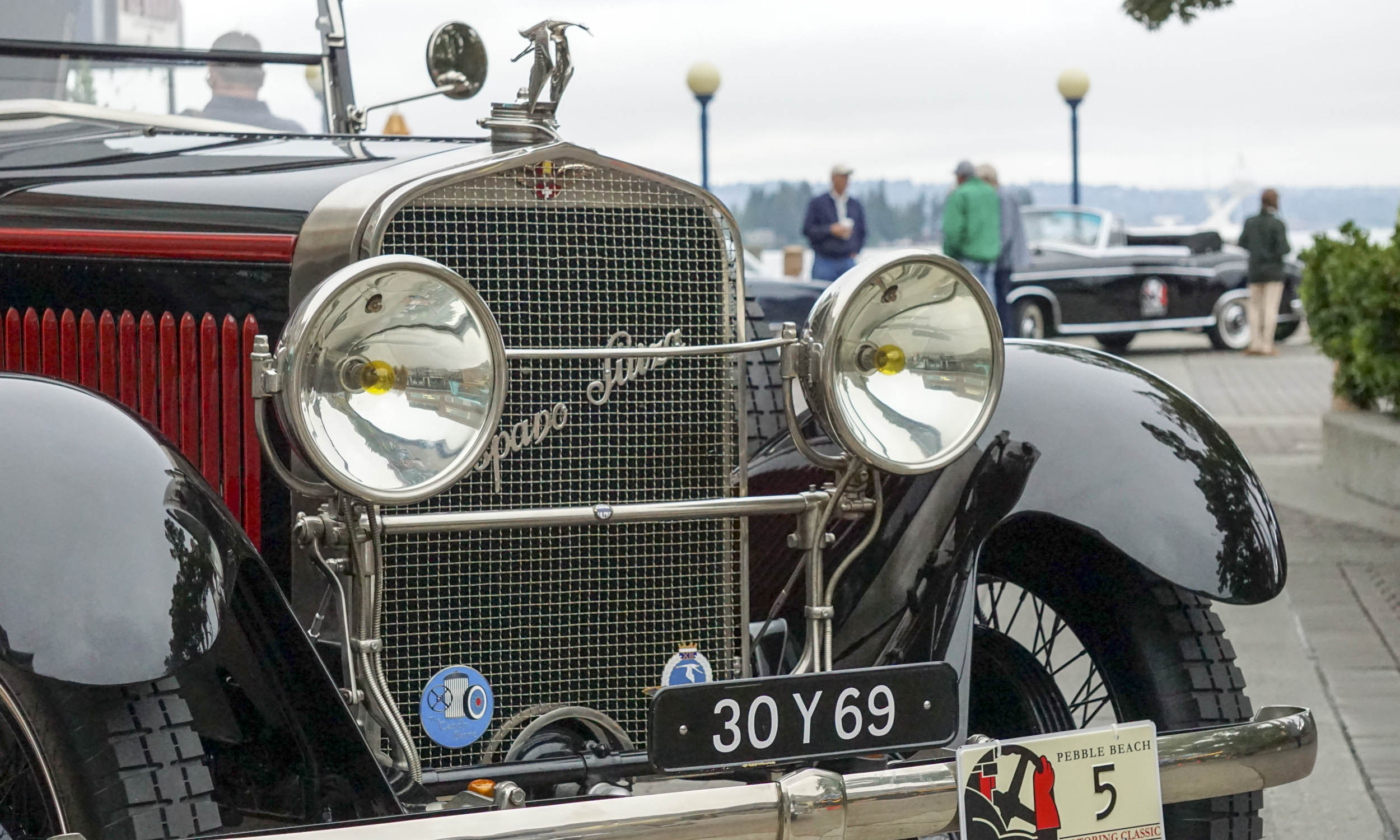 2016 Pebble Beach Concours Motoring Classic Departs