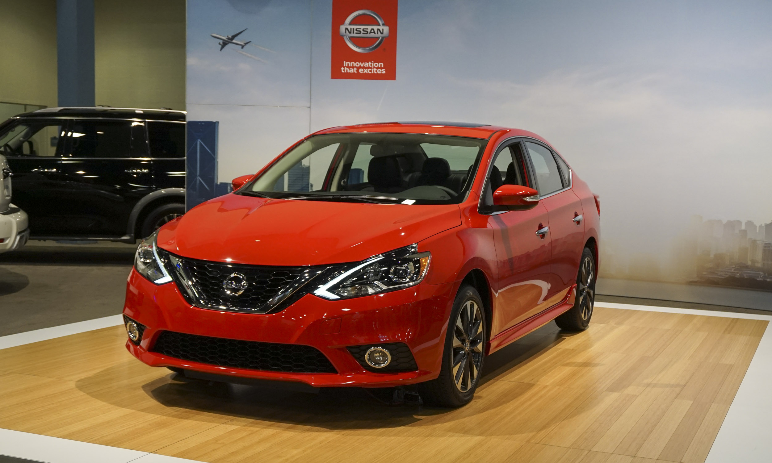 first ever nissan sentra sr turbo drops in miami autonxt. Black Bedroom Furniture Sets. Home Design Ideas