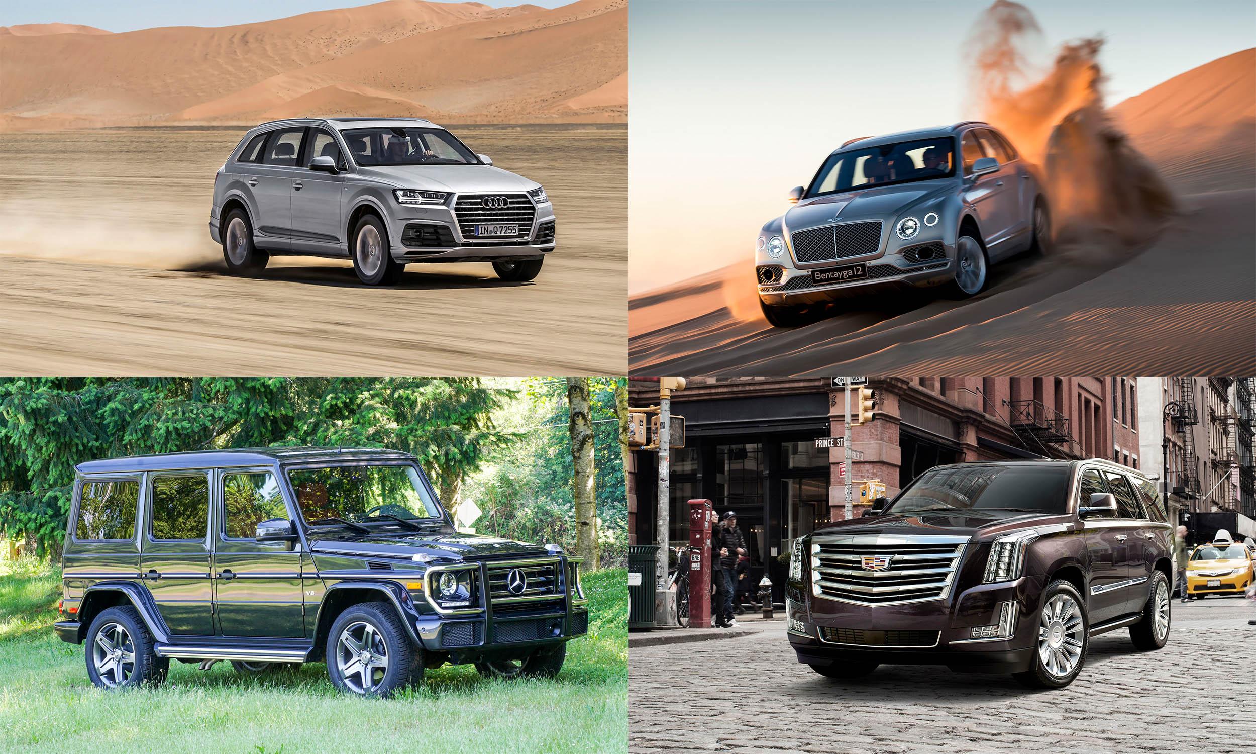© Audi AG, © Automotive Content Experience, © Bentley Motors, © General Motors