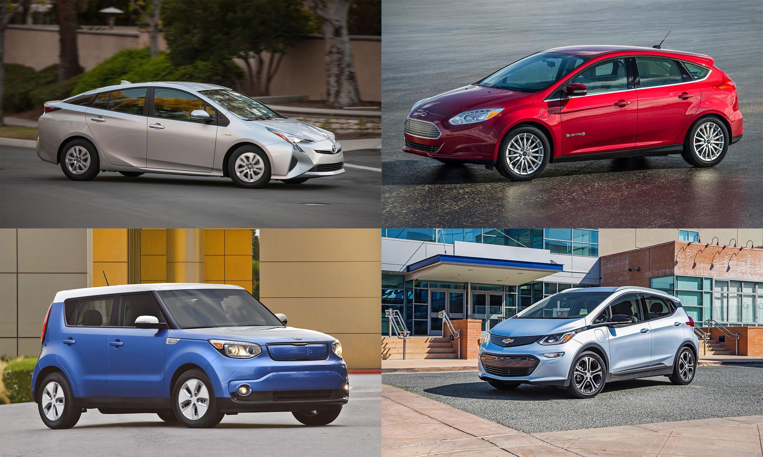 © Toyota Motor Sales, © Kia Motors America, © Ford Motor Company, © BMW USA