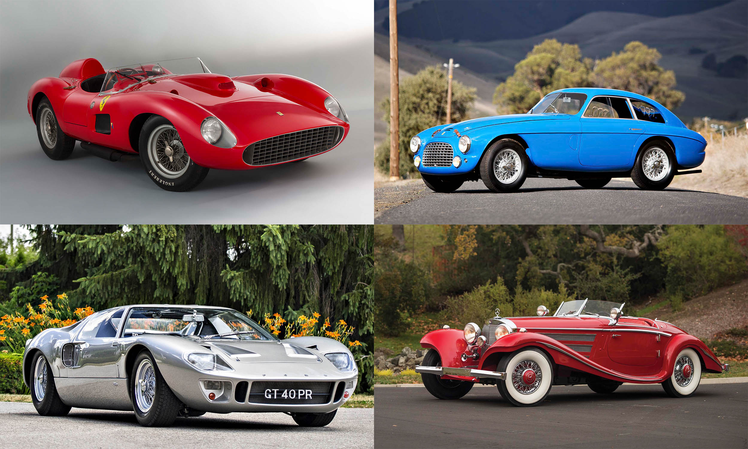 Top Auction Cars