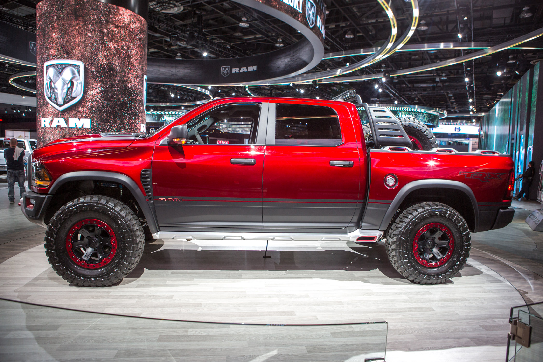 ram rebel trx power in the rebel trx comes from a supercharged 6 2 ...