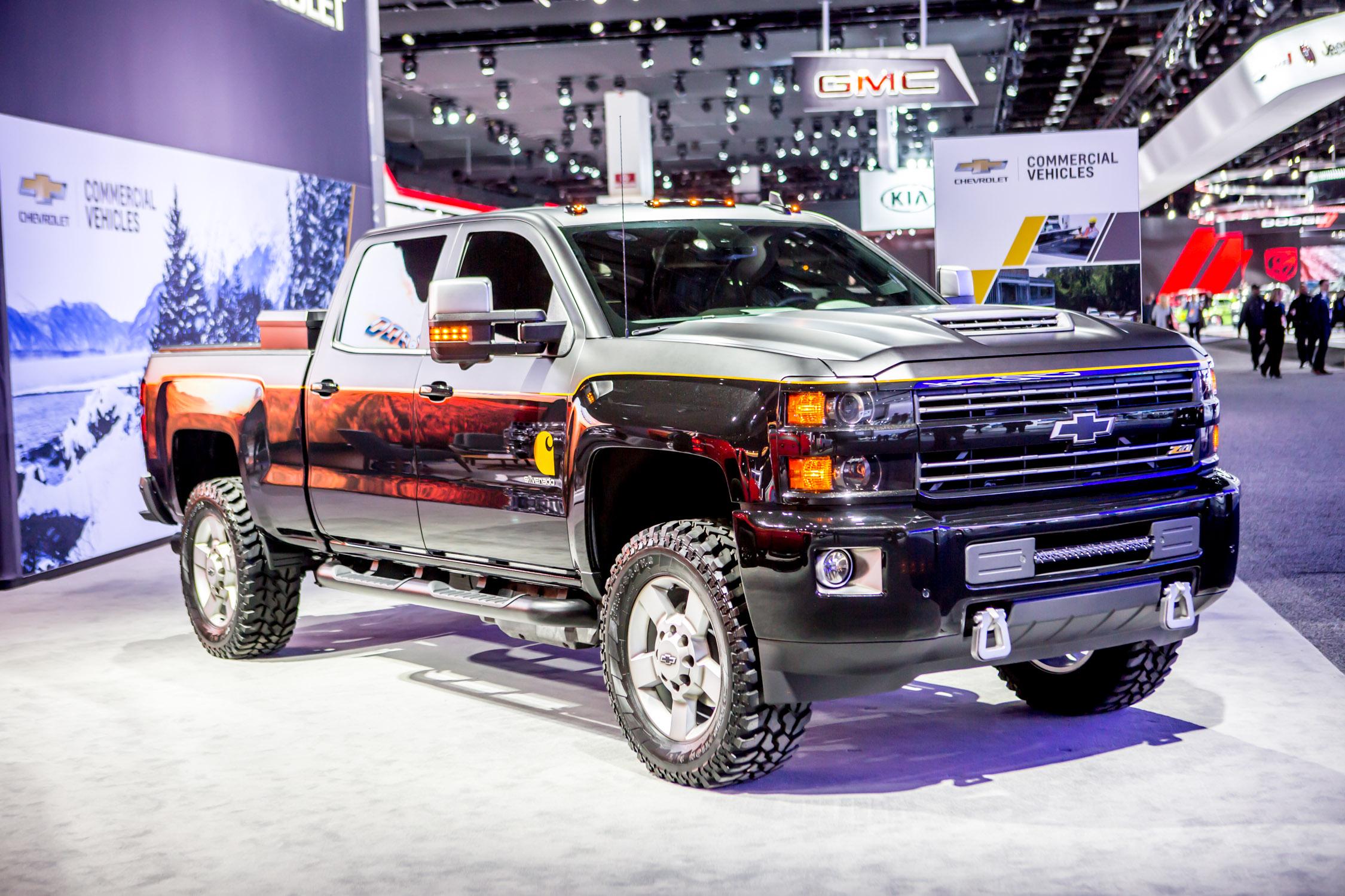 2017 detroit auto show top trucks autonxt. Black Bedroom Furniture Sets. Home Design Ideas