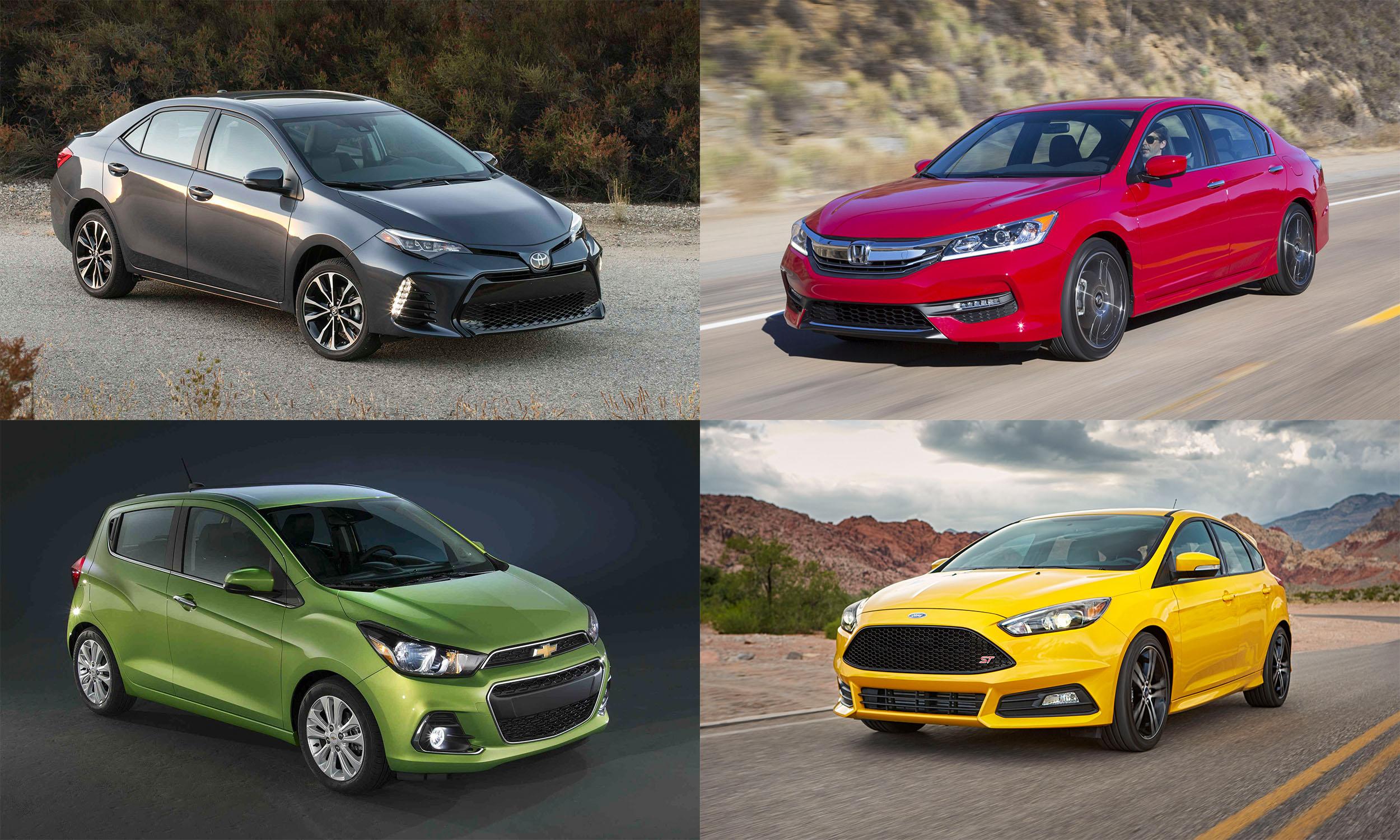 © Toyota Motor Sales; American Honda Motor Company; Ford Motor Company; General Motors