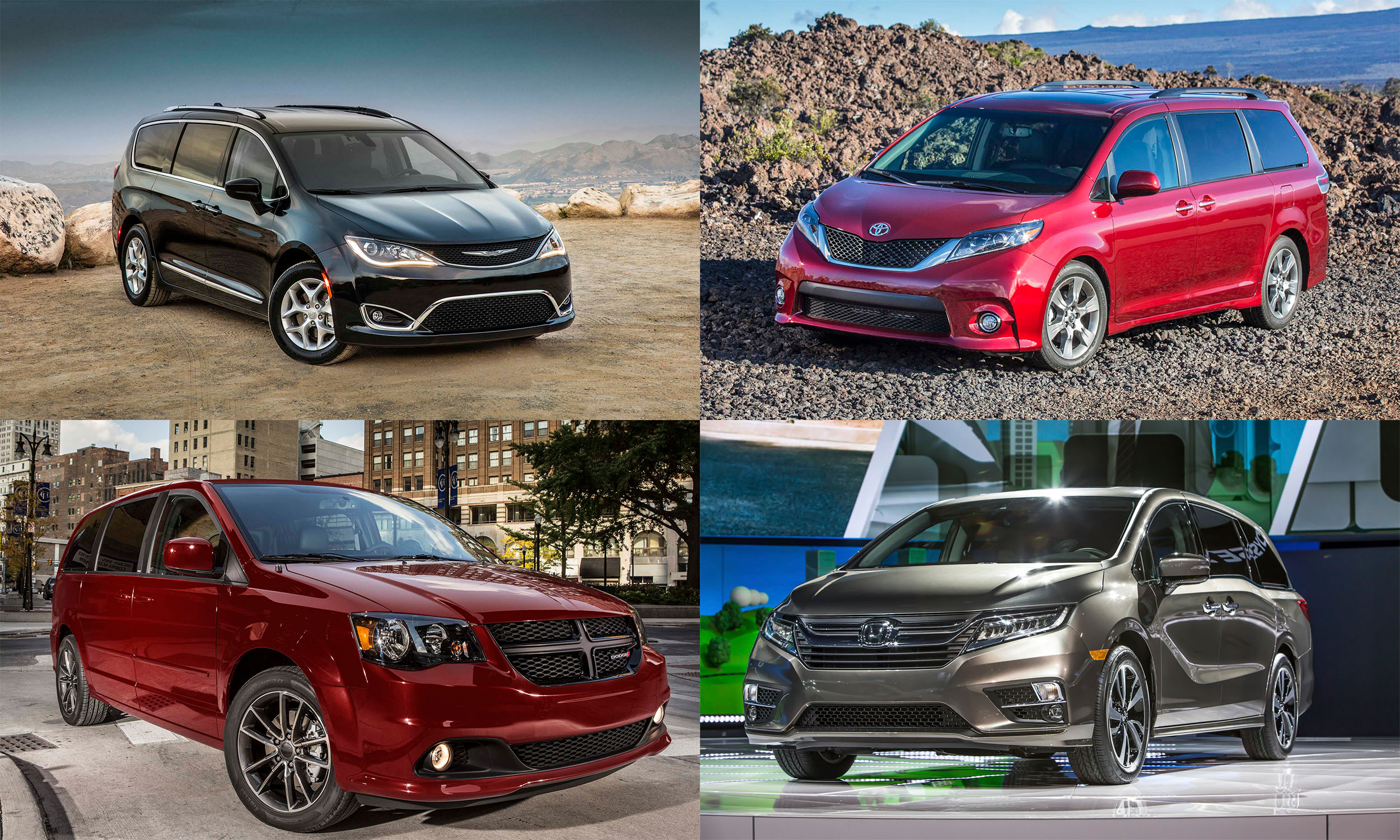 © FCA US LLC; Toyota Motor Sales, U.S.A.; Rod Hatfield; FCA US LLC